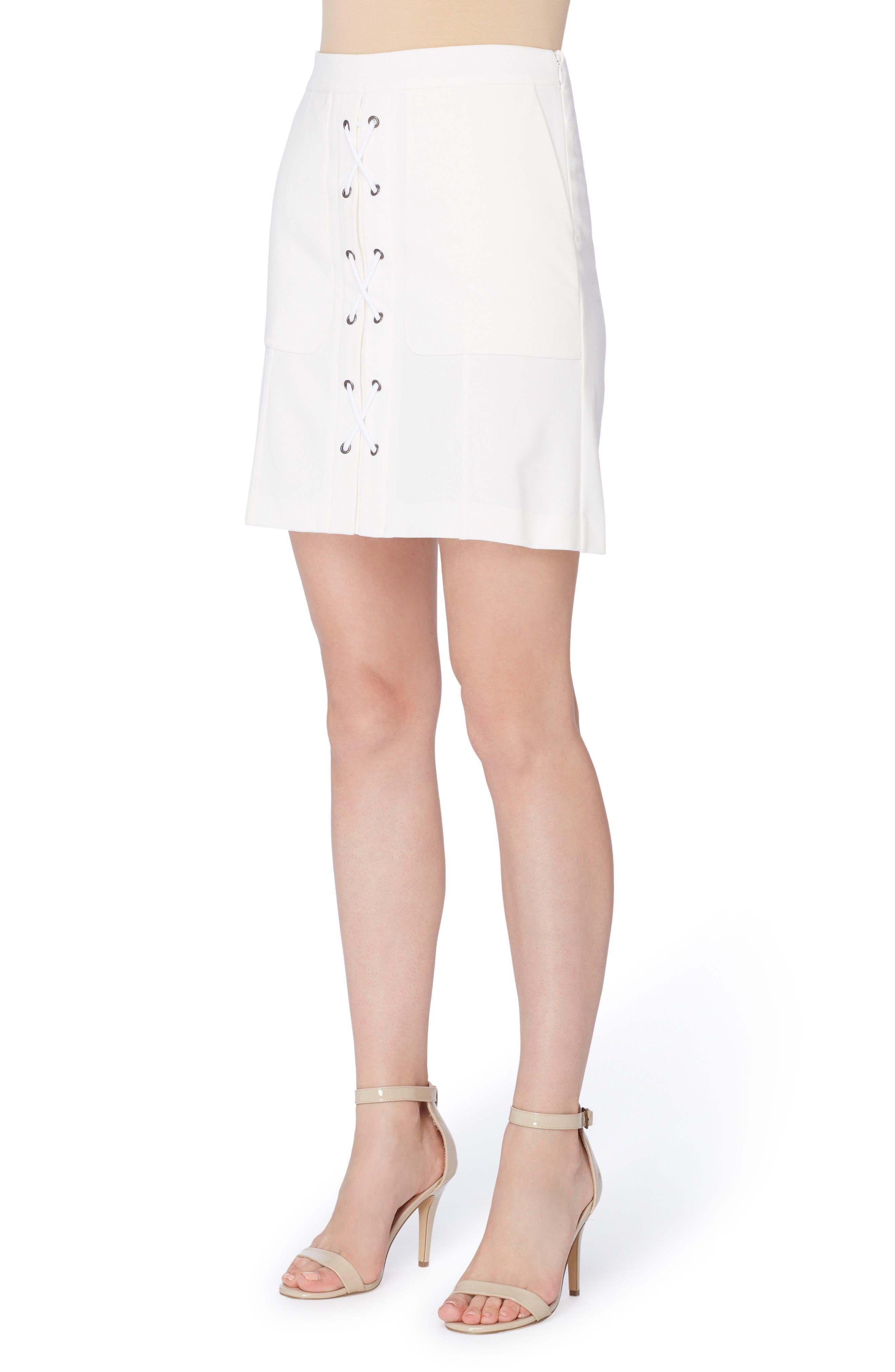 Catherine Catherine Malandrino Arry Lace-Up Skirt