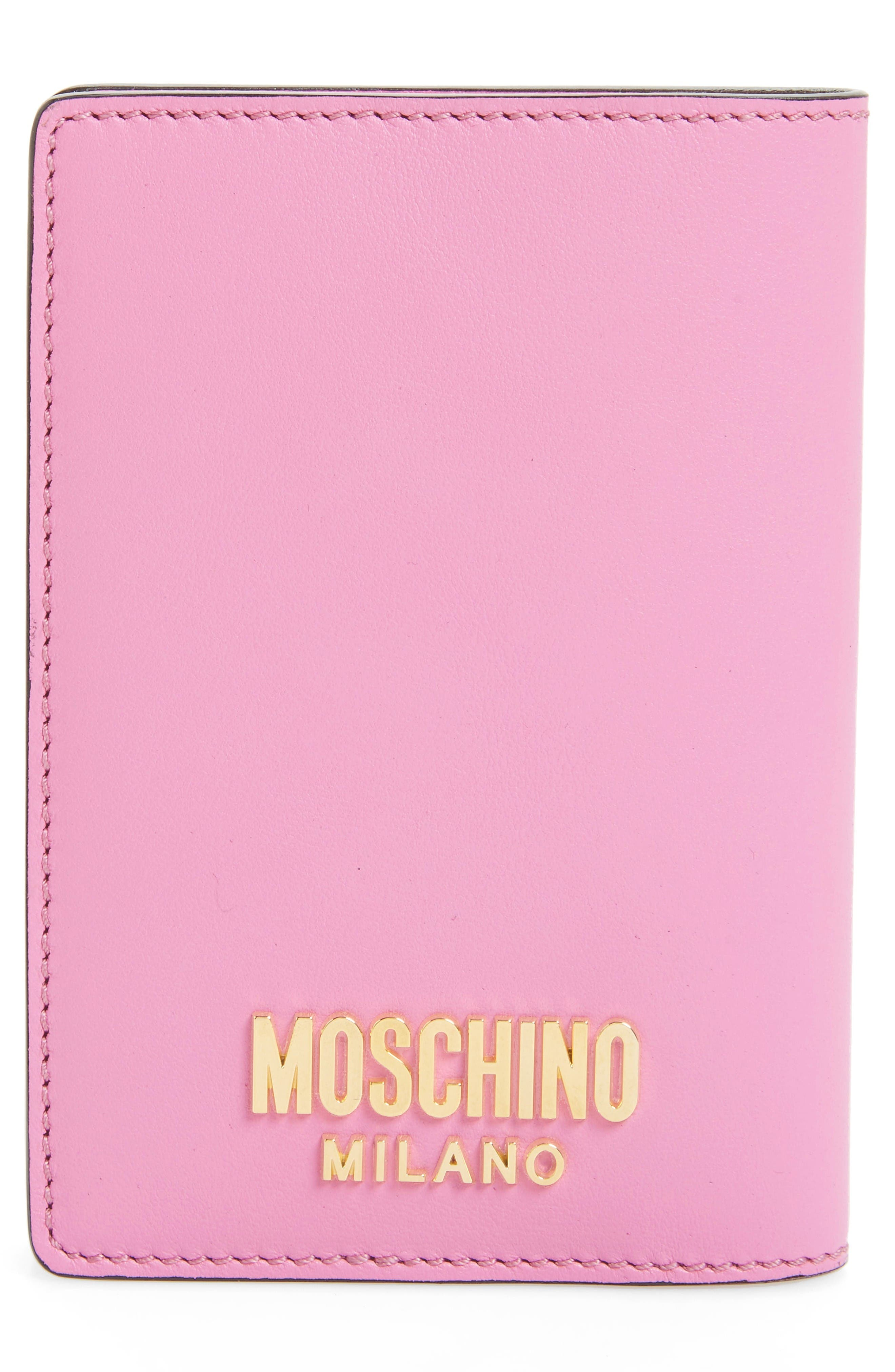 Alternate Image 3  - Moschino Tool Belt Charms Passport Cover
