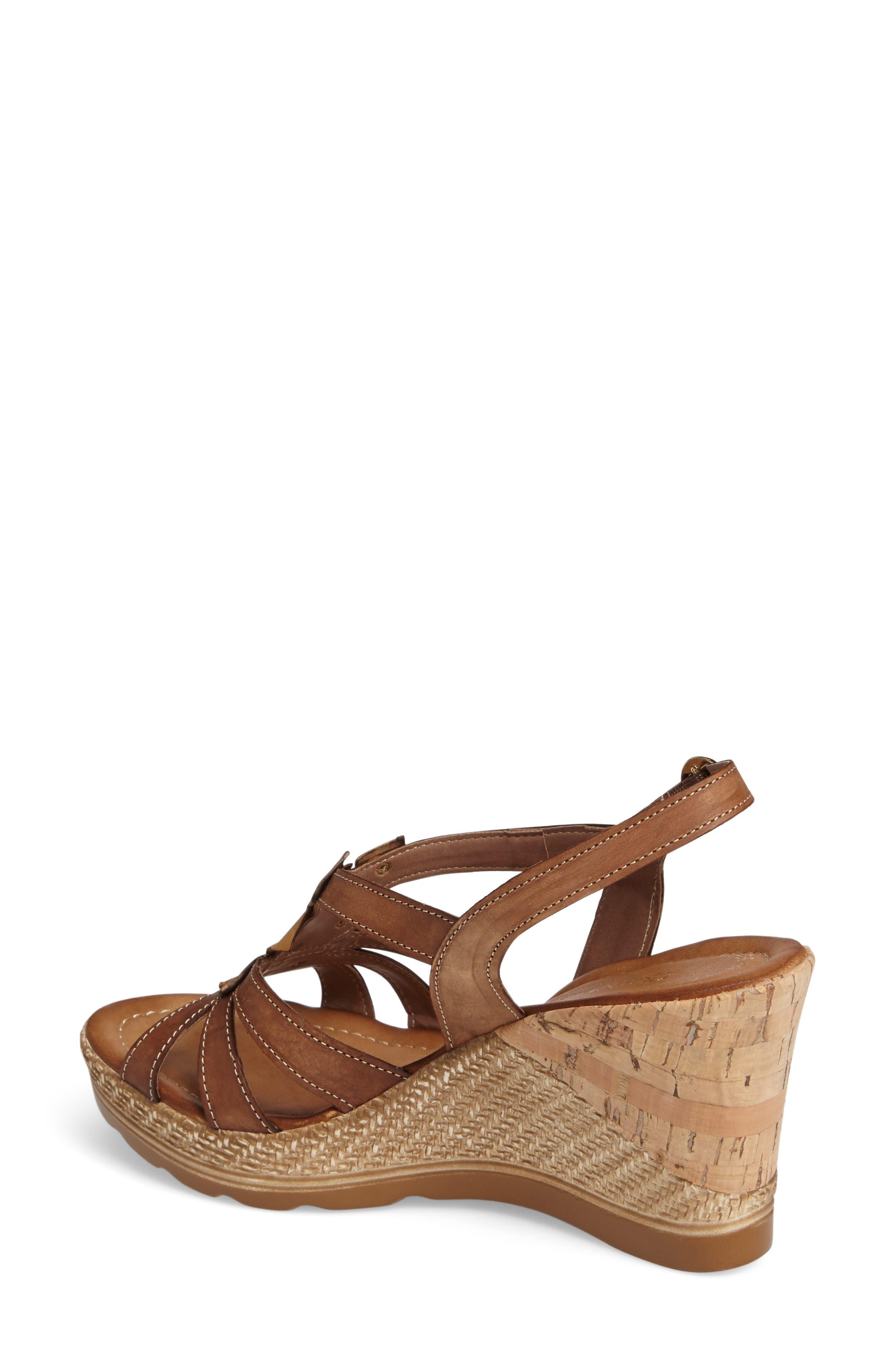 Alternate Image 2  - Napa Flex Bari Wedge Sandal (Women)