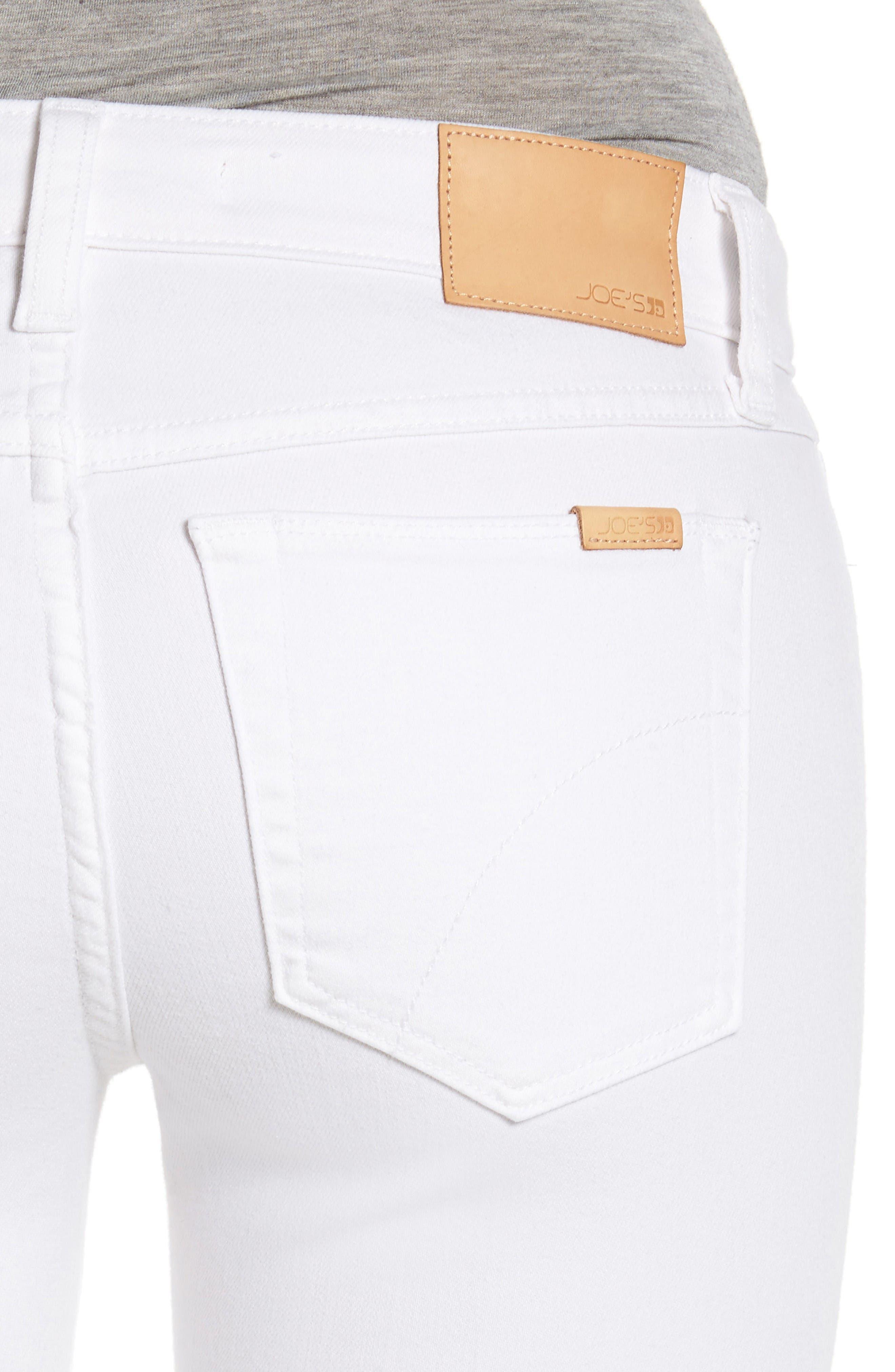 The Provocateur Raw Hem Bootcut Jeans,                             Alternate thumbnail 4, color,                             Hennie