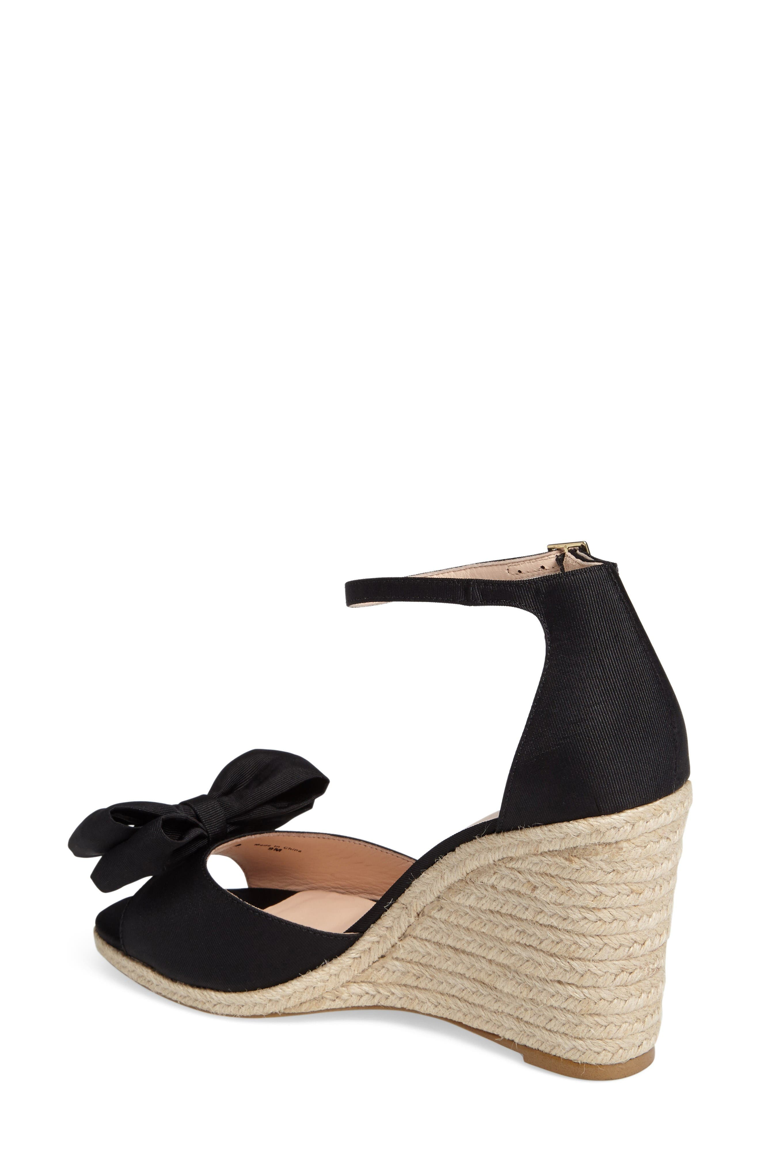 Alternate Image 2  - kate spade new york broome wedge sandal (Women)