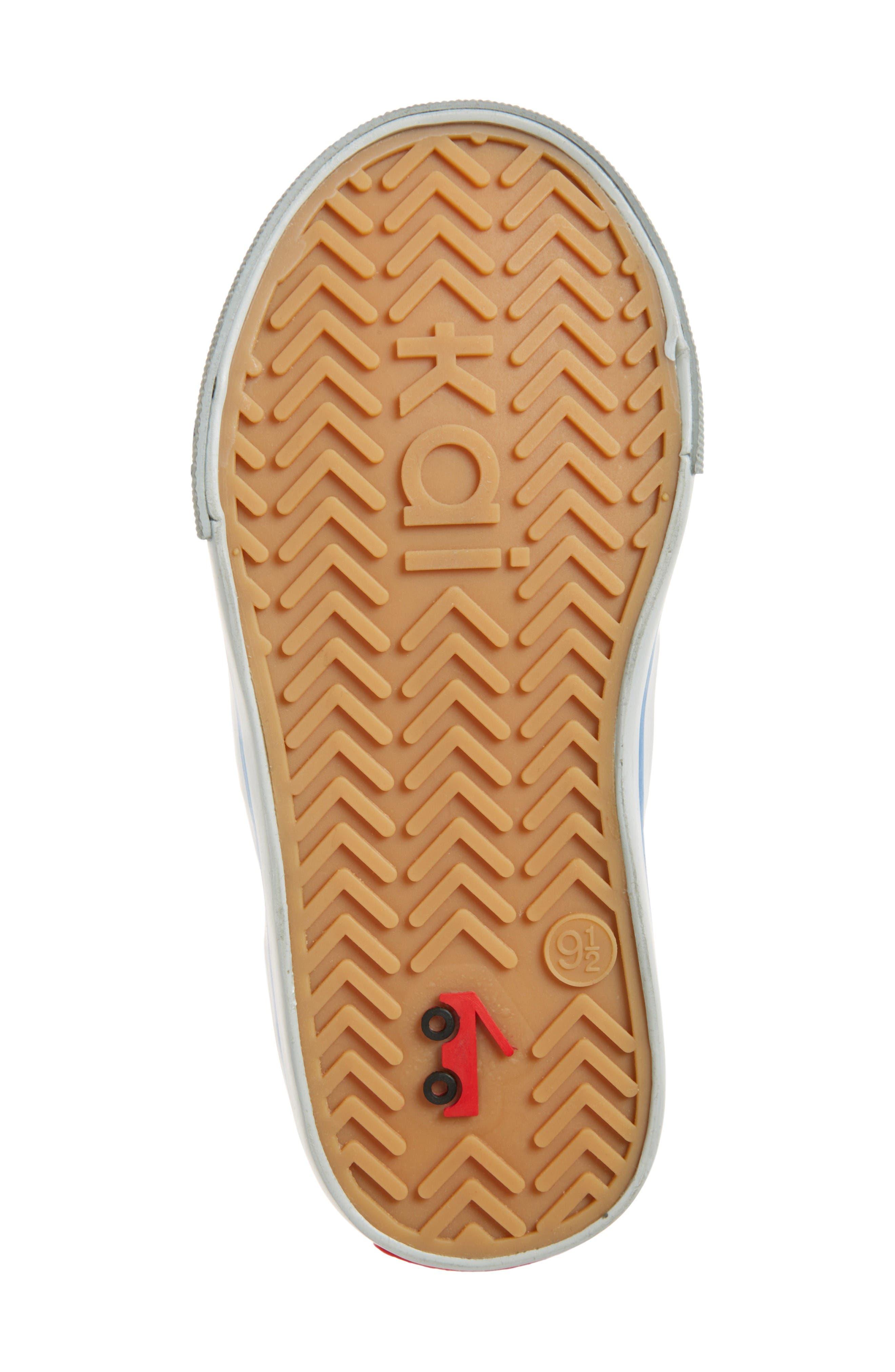 Russell Sneaker,                             Alternate thumbnail 4, color,                             Grey Denim