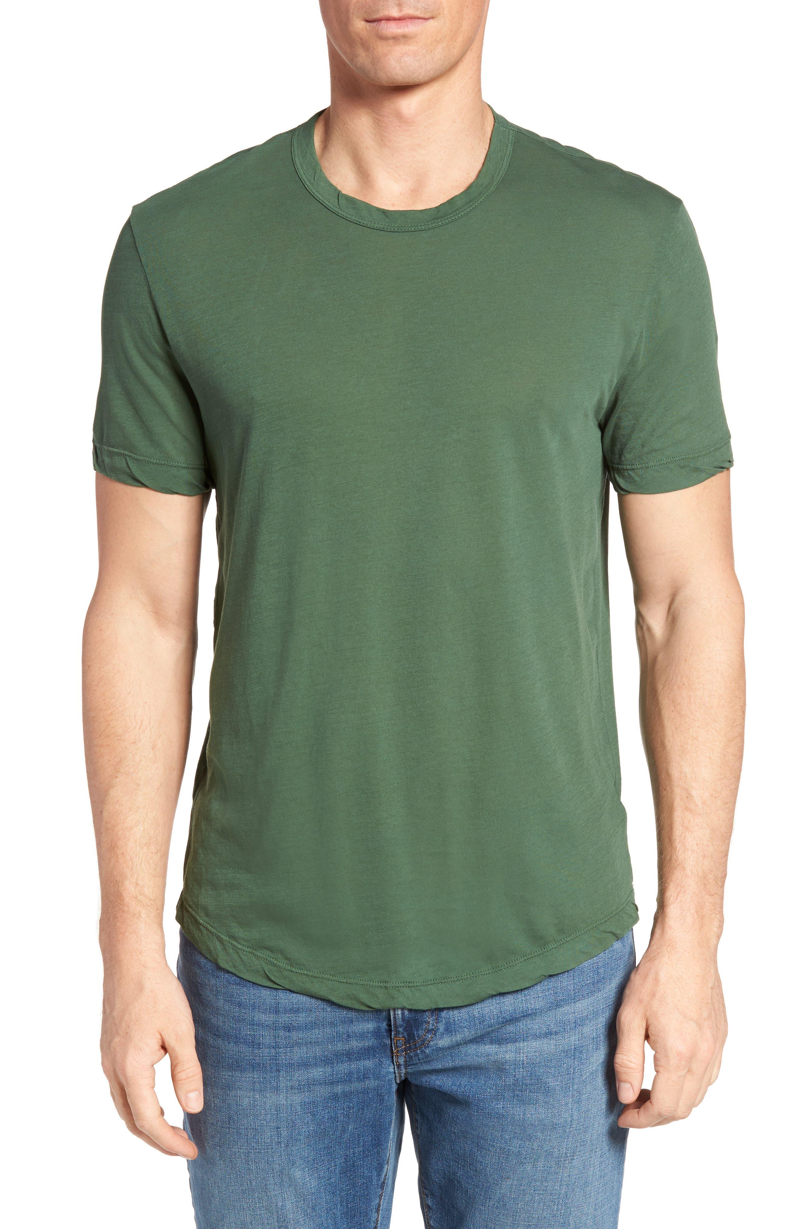 Crewneck Jersey T-Shirt,                         Main,                         color, Rugby