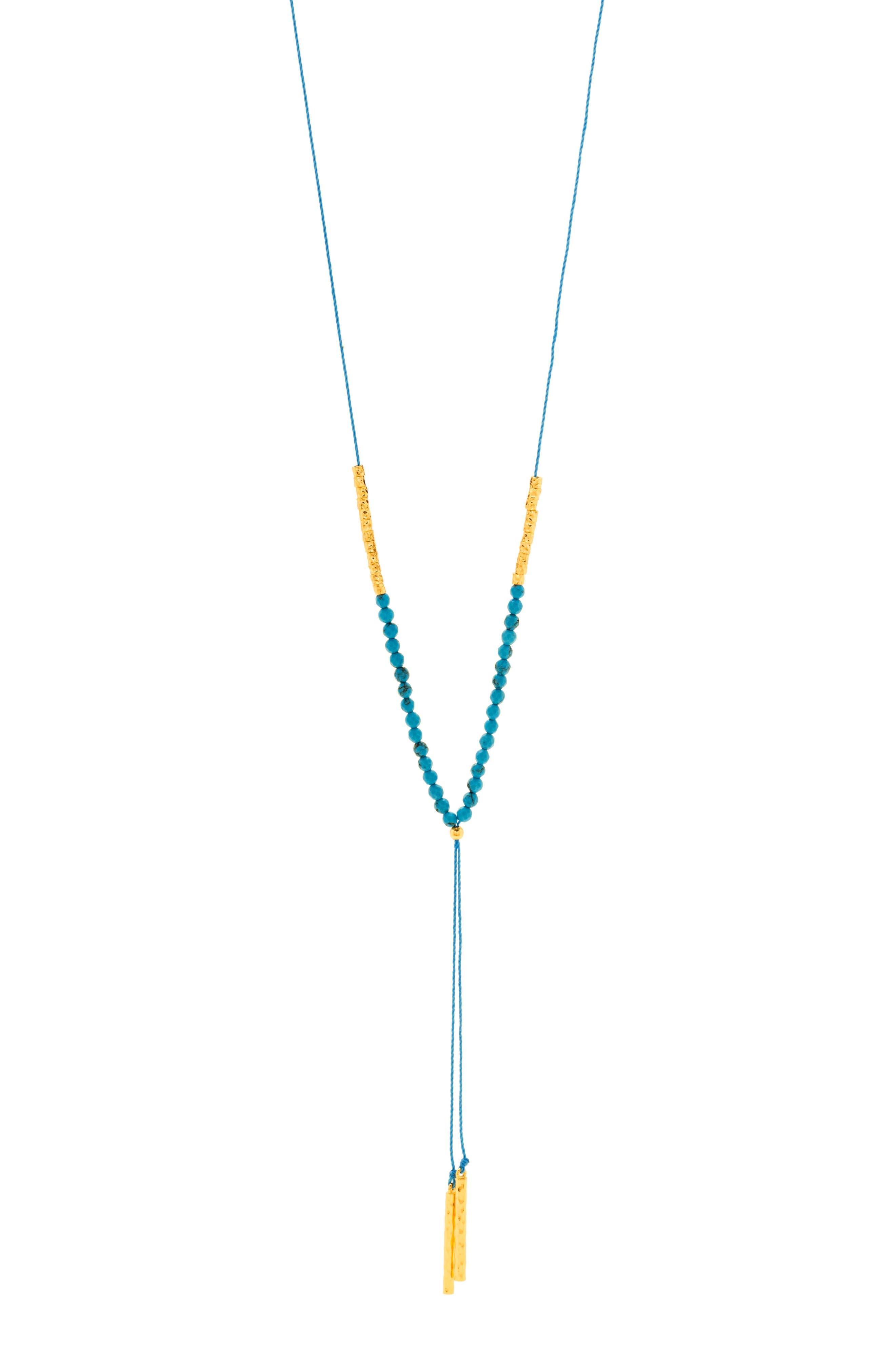 Alternate Image 1 Selected - gorjana Power Gemstone Adjustable Y-Necklace