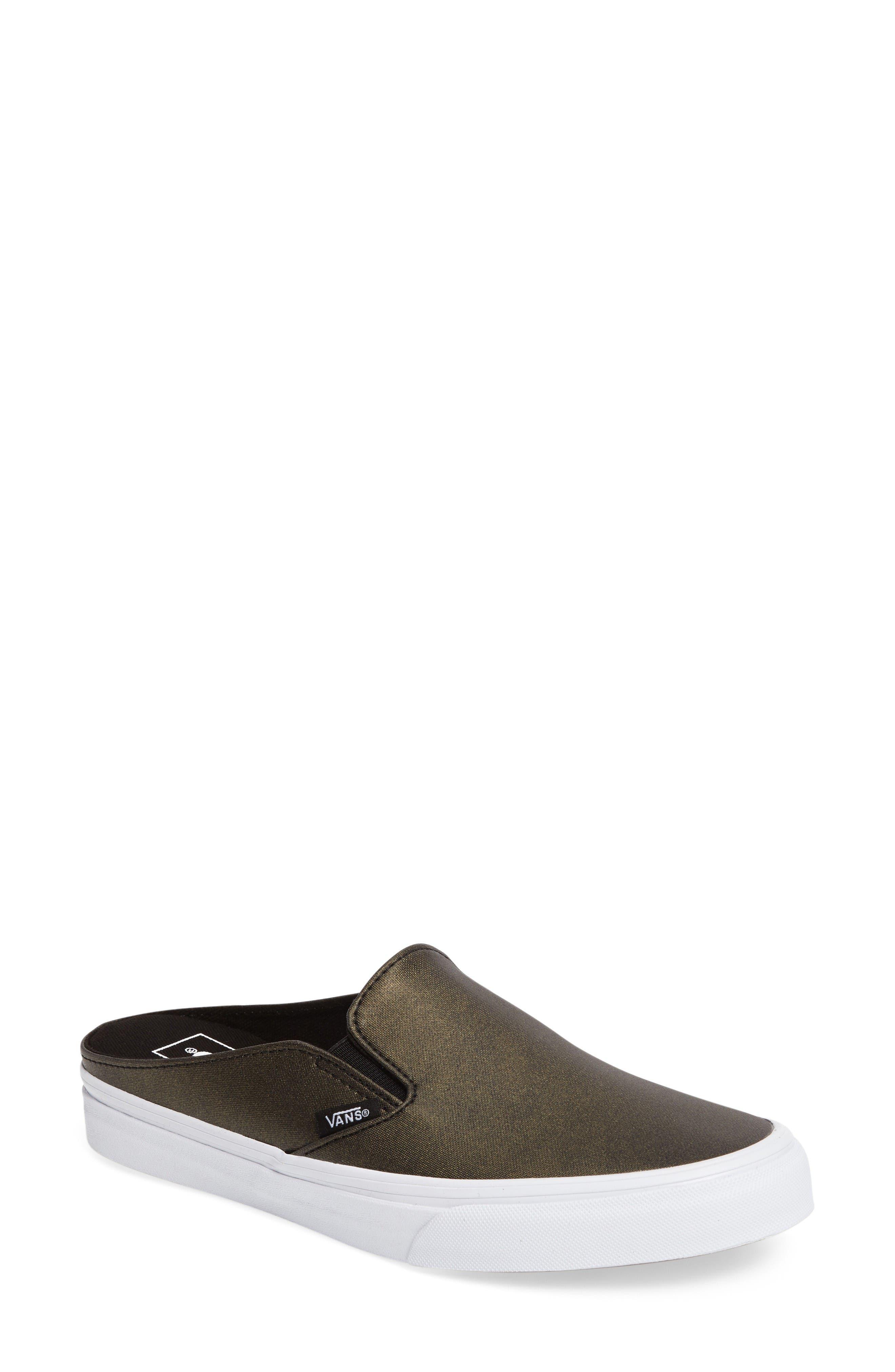 Alternate Image 1 Selected - Vans 'Classic' Slip-On Sneaker Mule (Women)
