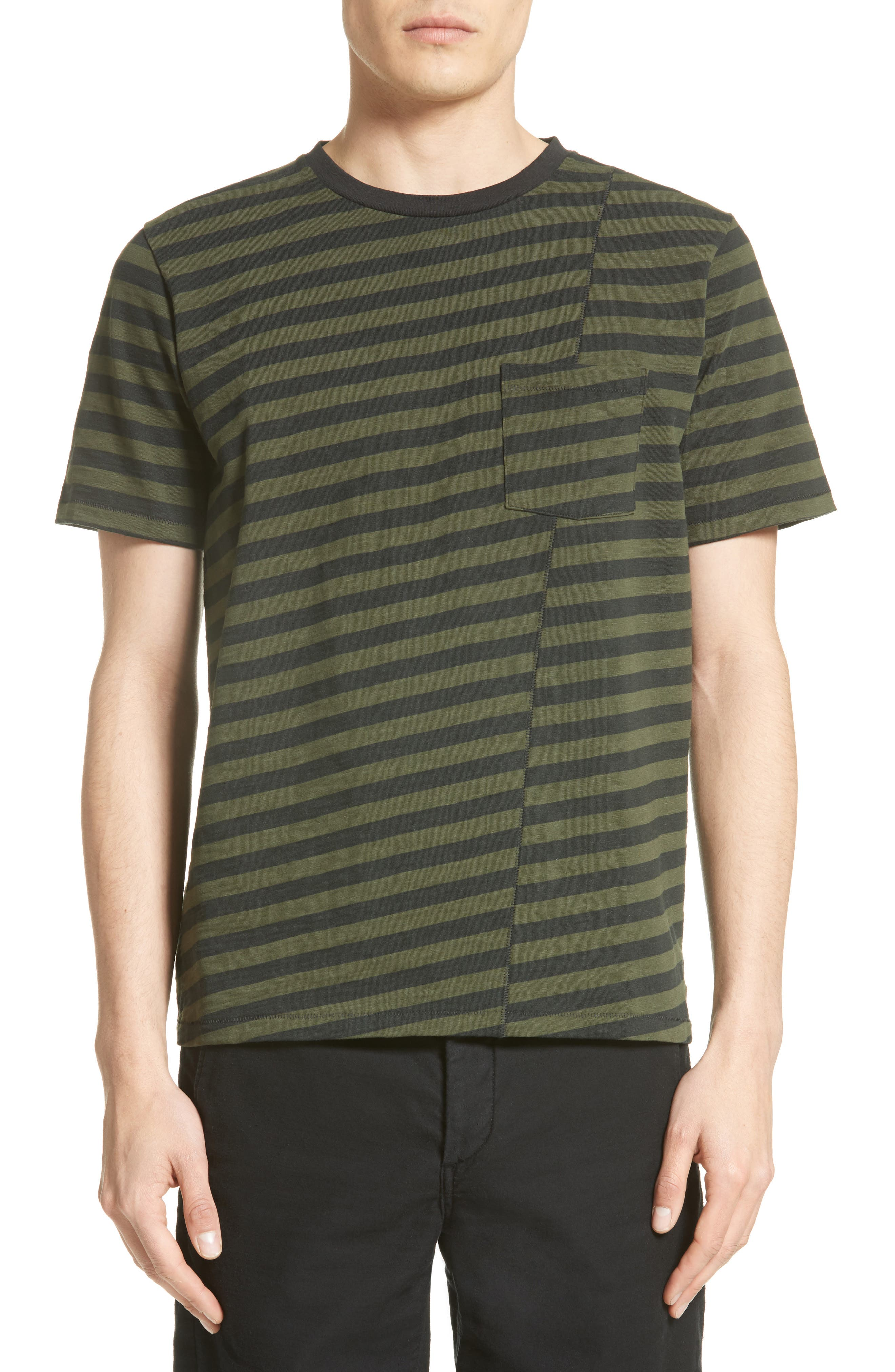 Alternate Image 1 Selected - rag & bone Blake Stripe T-Shirt