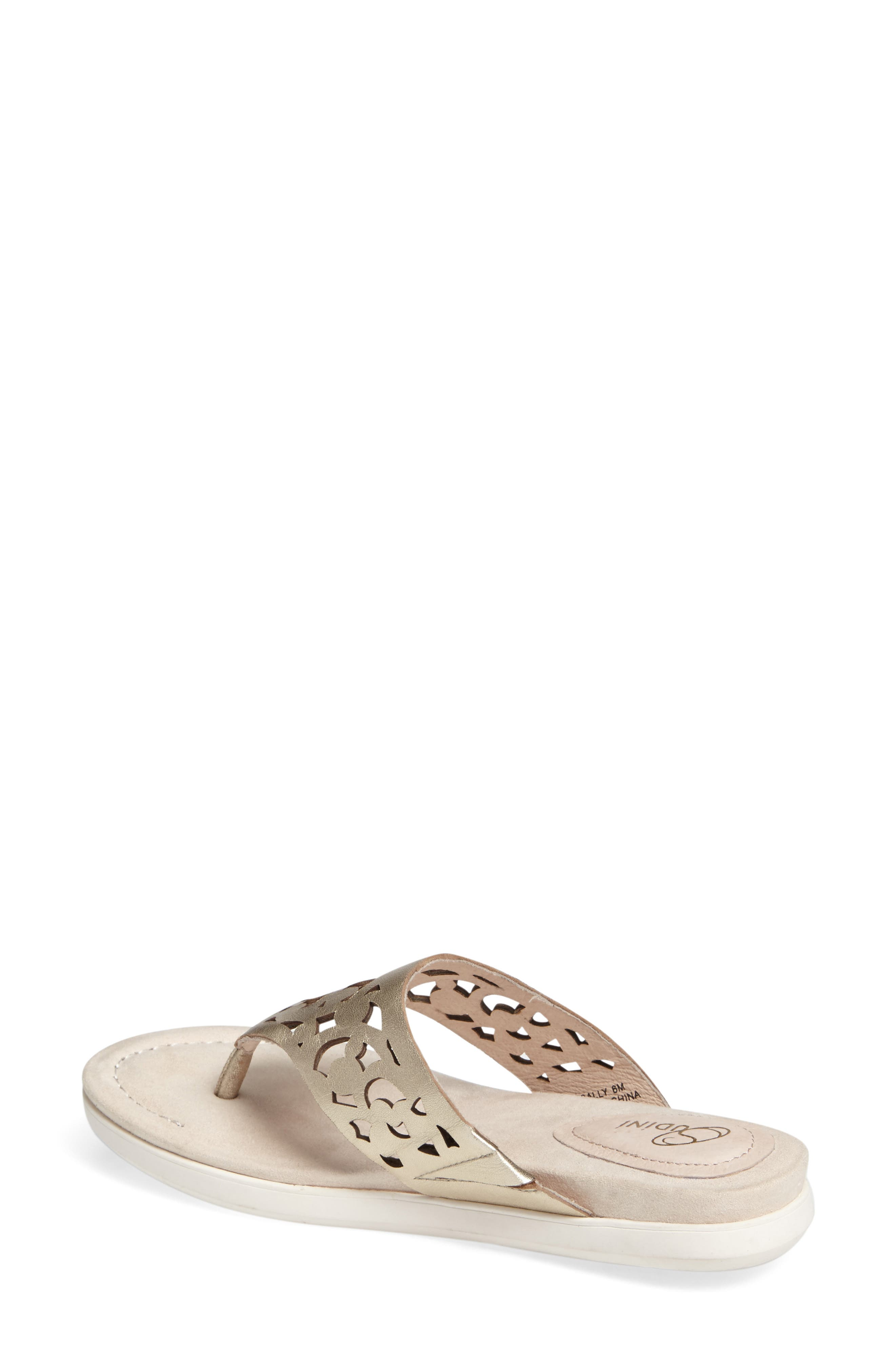 Alternate Image 2  - Sudini Sally Perforated Flip Flop (Women)