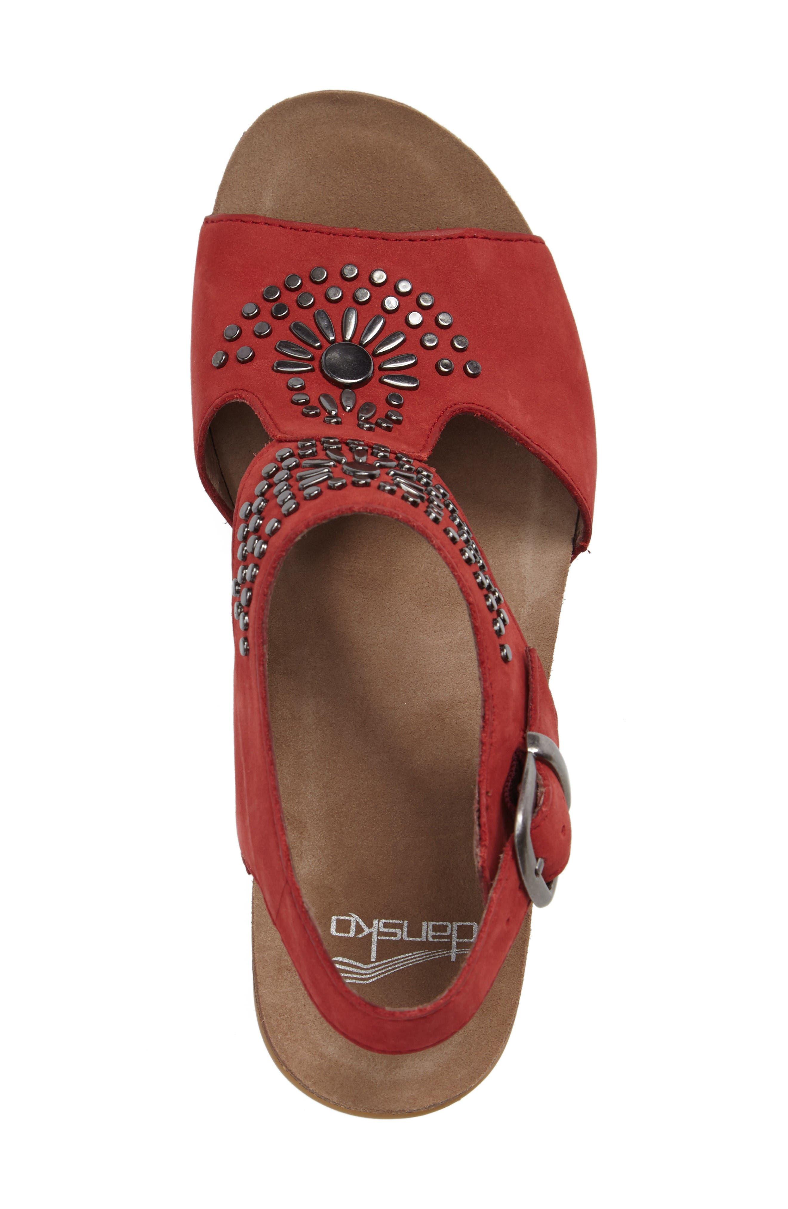 Alternate Image 3  - Dansko Deandra Studded Sandal (Women)