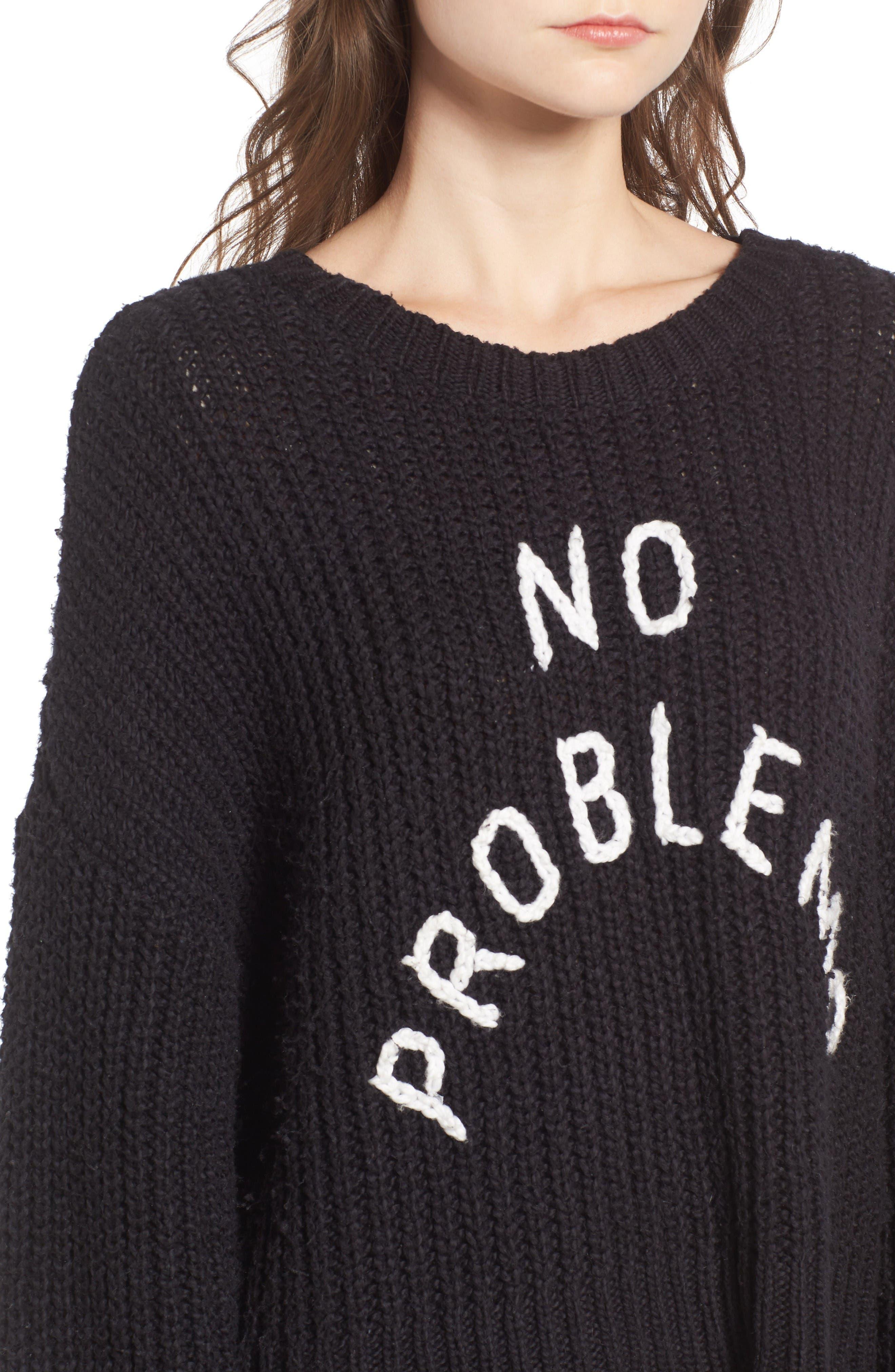 Alternate Image 4  - Wildfox No Problemo Sweater