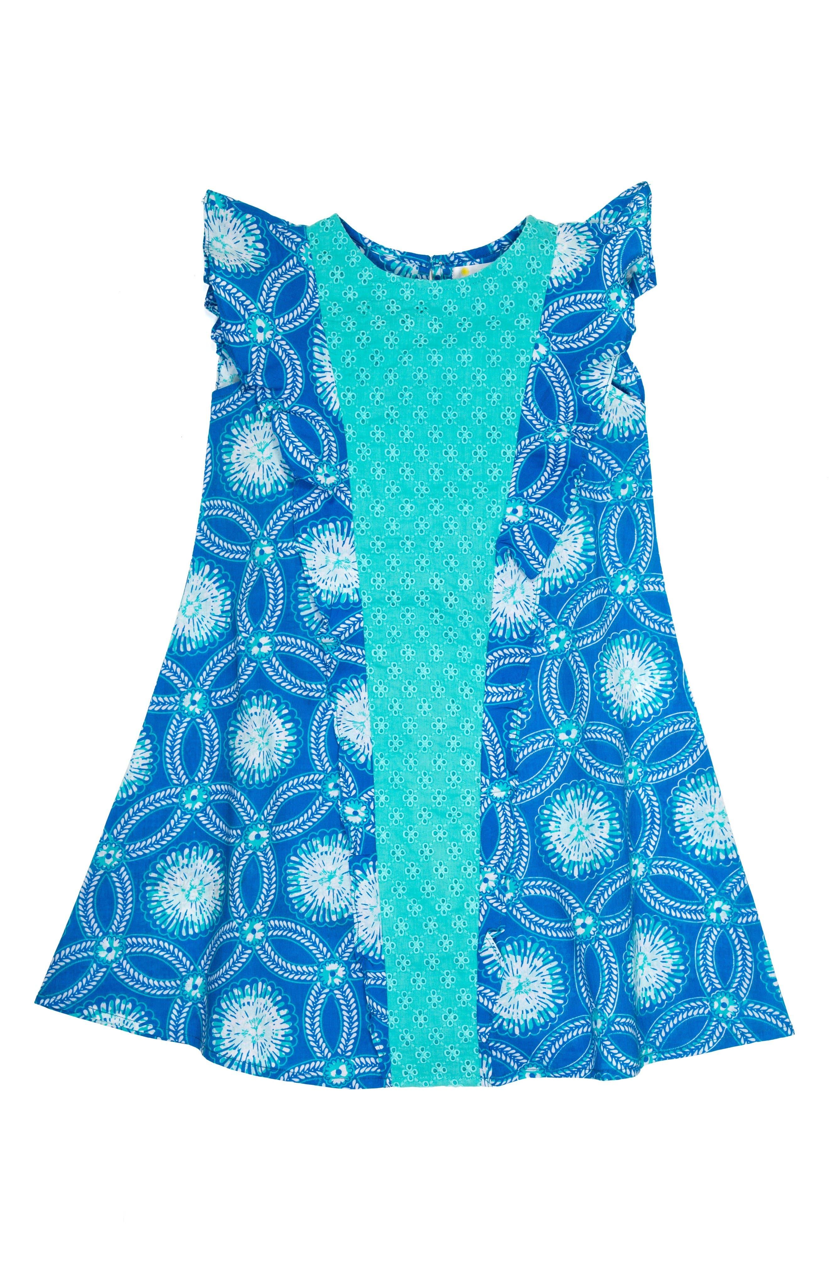 Main Image - Masala Baby Bali Ruffle Dress (Toddler Girls, Little Girls & Big Girls)