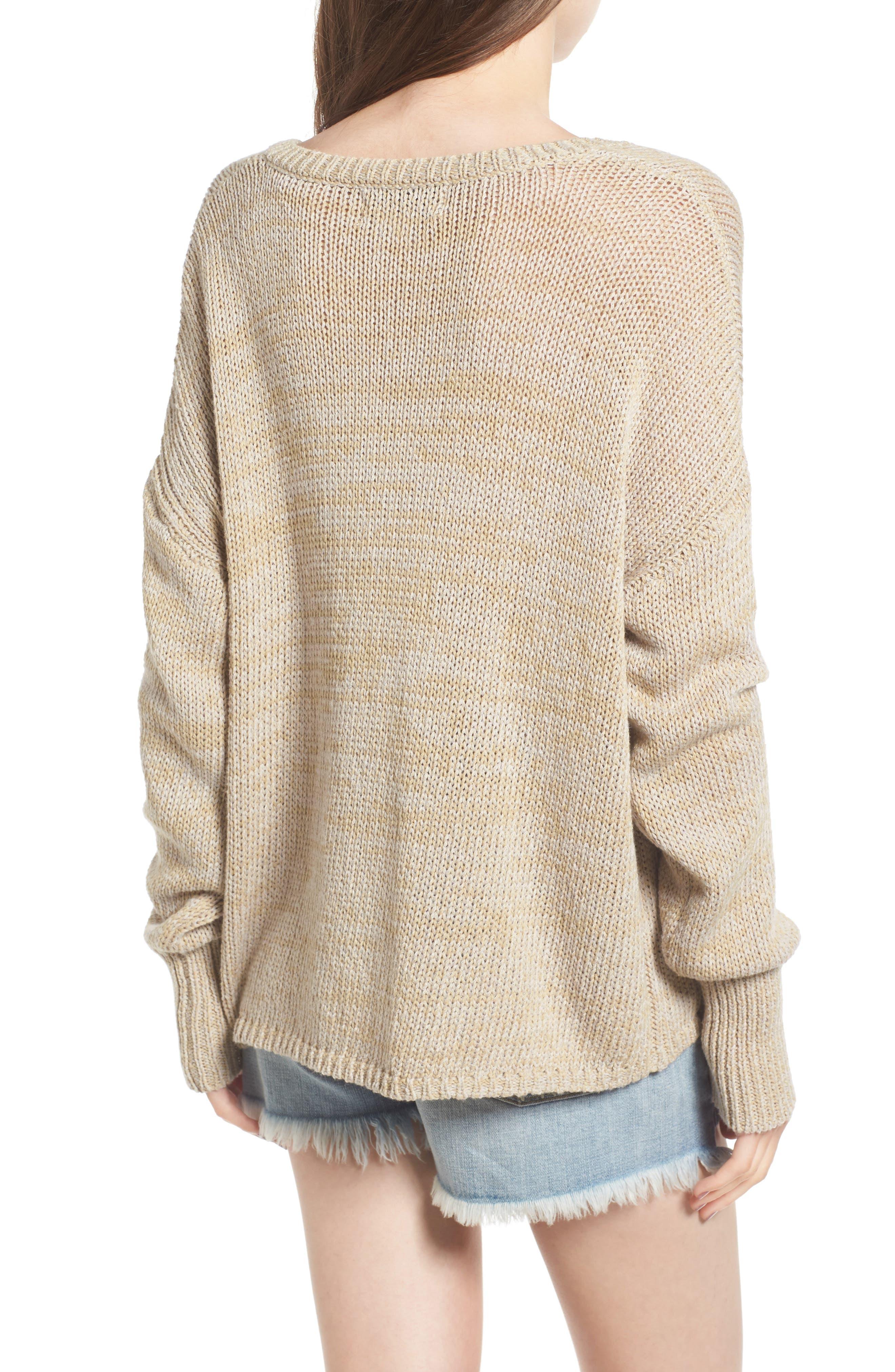 Alternate Image 2  - Wildfox Stop Judging Me Sweater