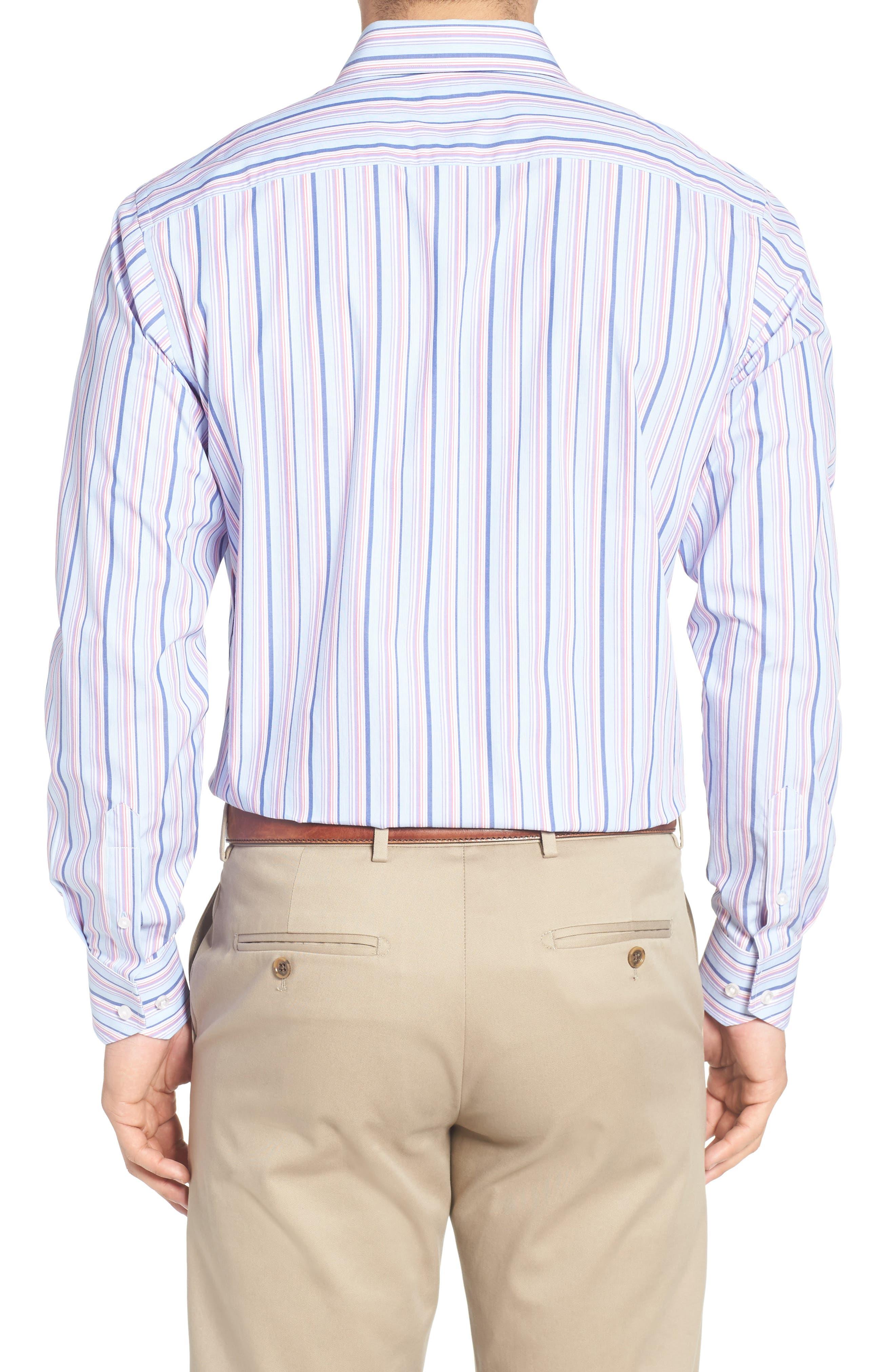 Alternate Image 2  - TailorByrd Holly Stripe Sport Shirt