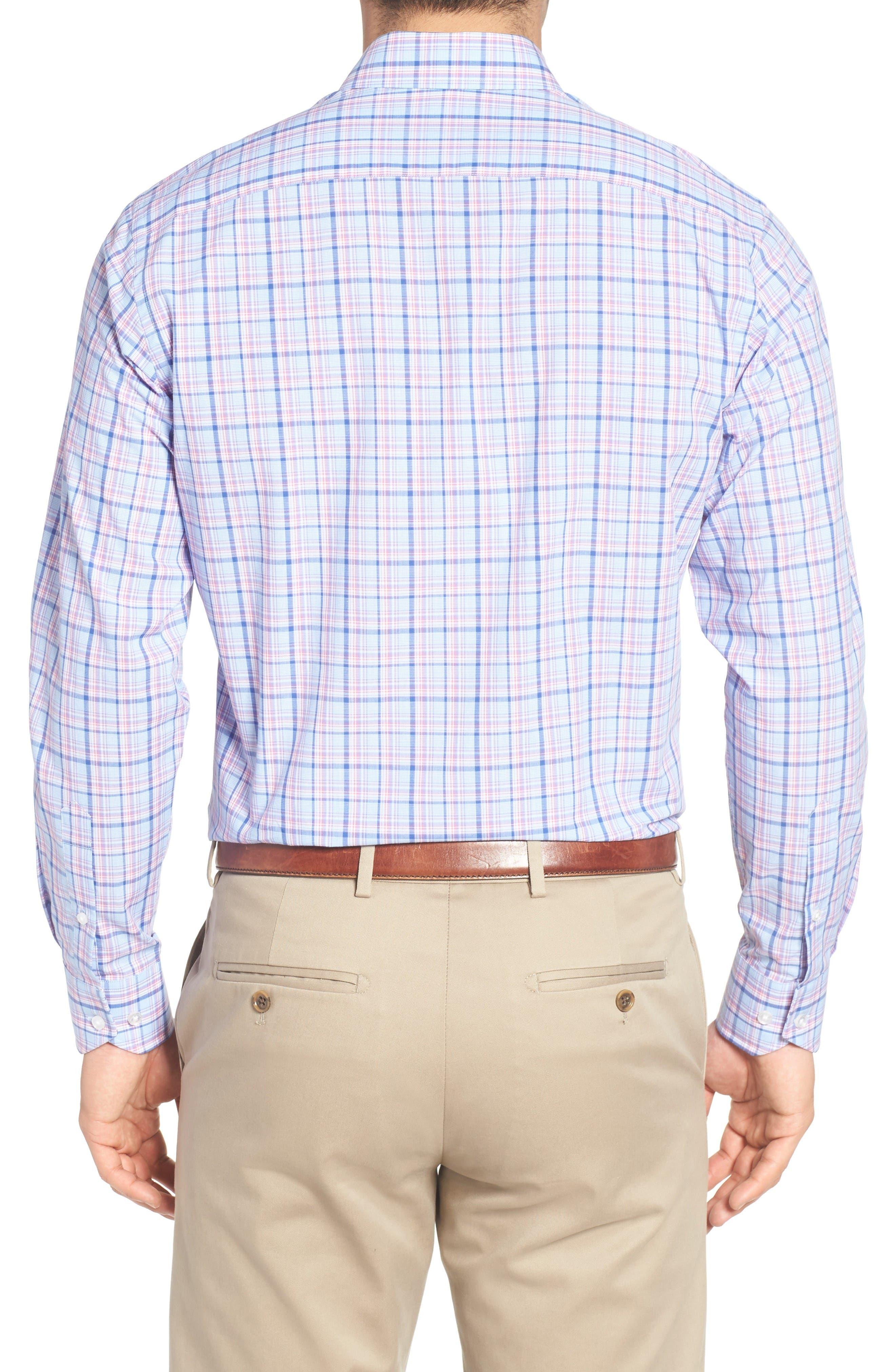 Alternate Image 2  - Tailorbyrd Arbor Plaid Sport Shirt