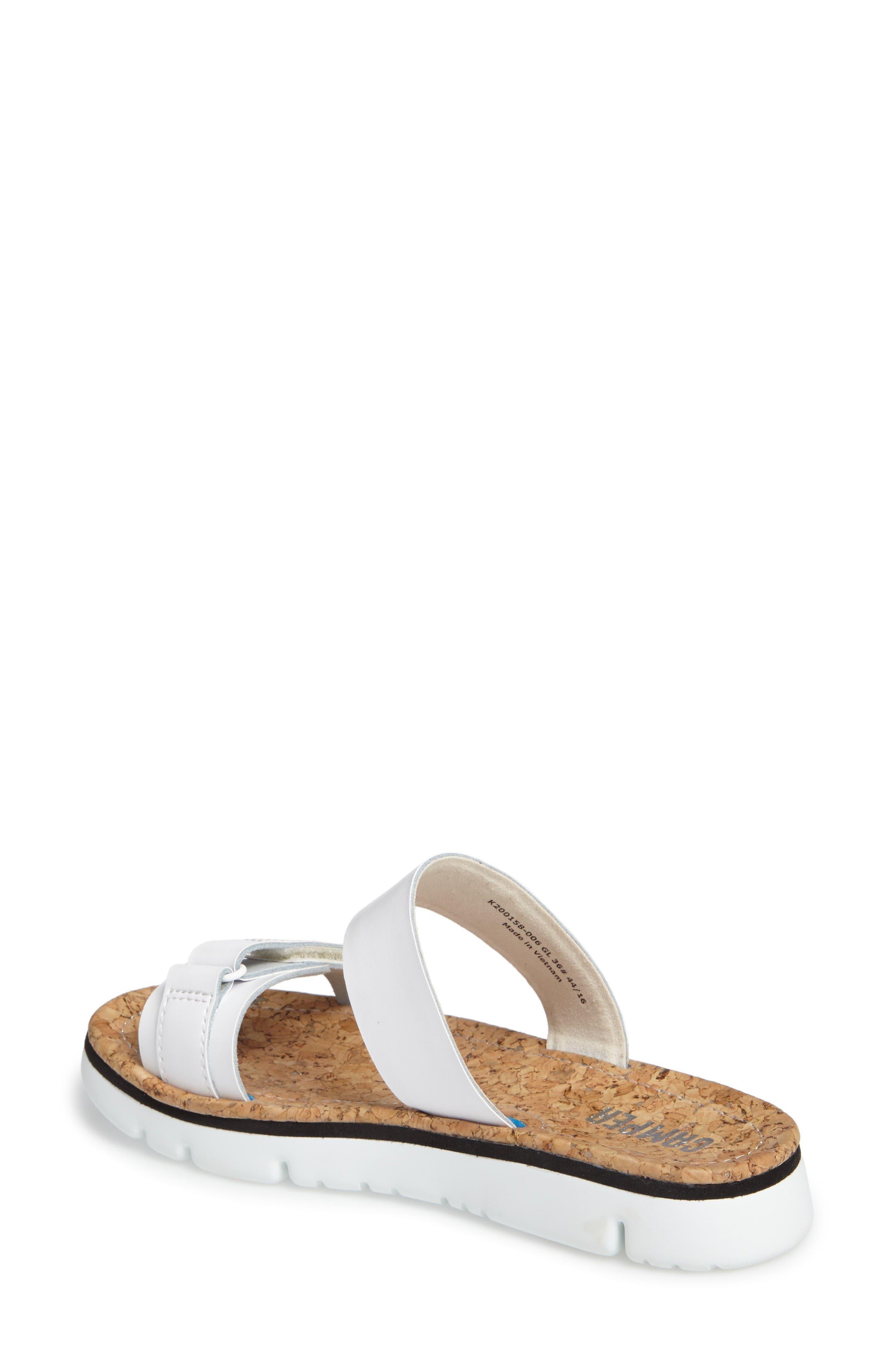 Alternate Image 2  - Camper 'Oruga' Two Strap Slide Sandal (Women)