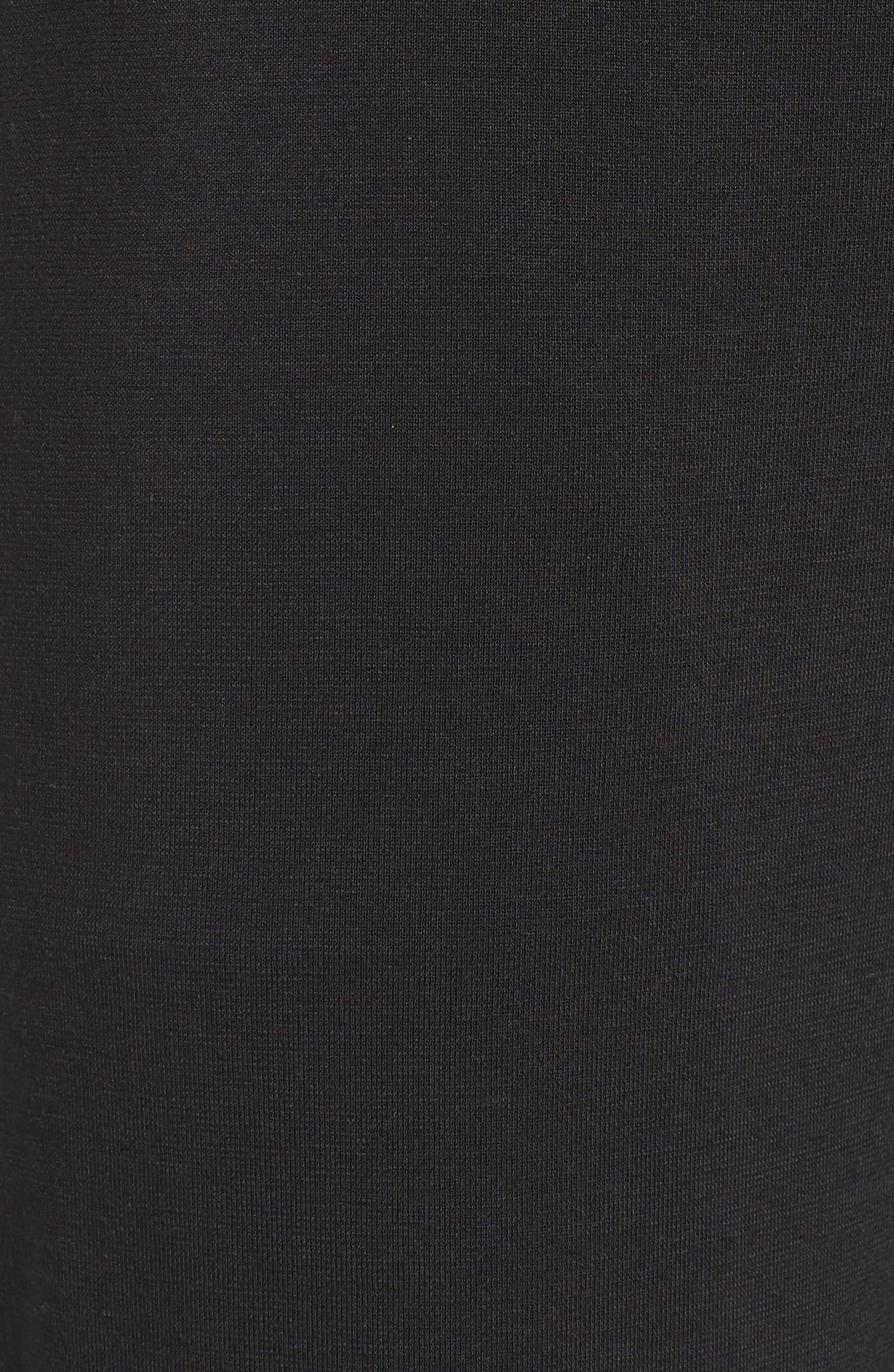 'U1143' Micromodal Lounge Pants,                             Alternate thumbnail 5, color,                             Black