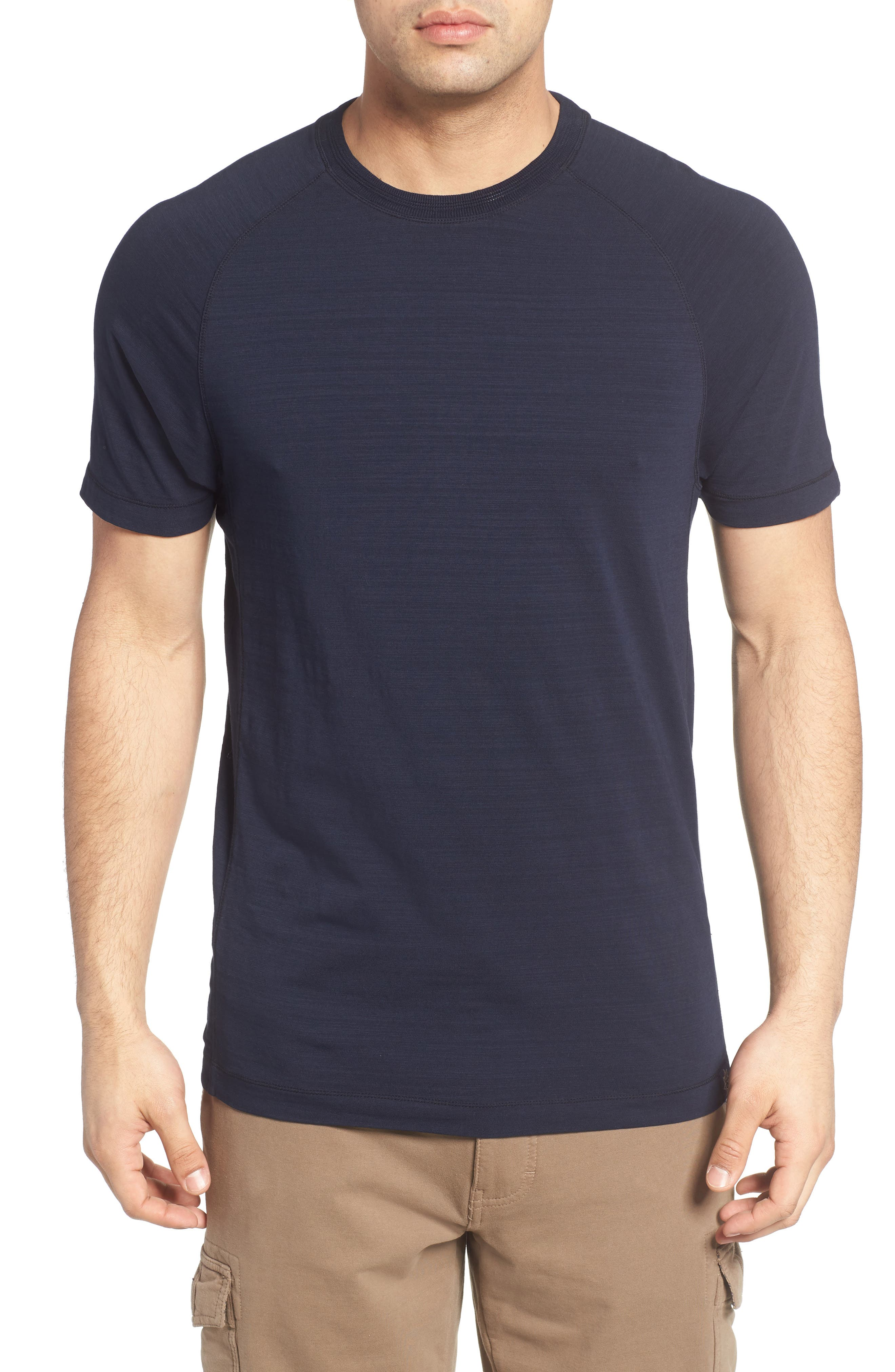 Alternate Image 1 Selected - Thaddeus Riggs Stretch Slub Jersey T-Shirt