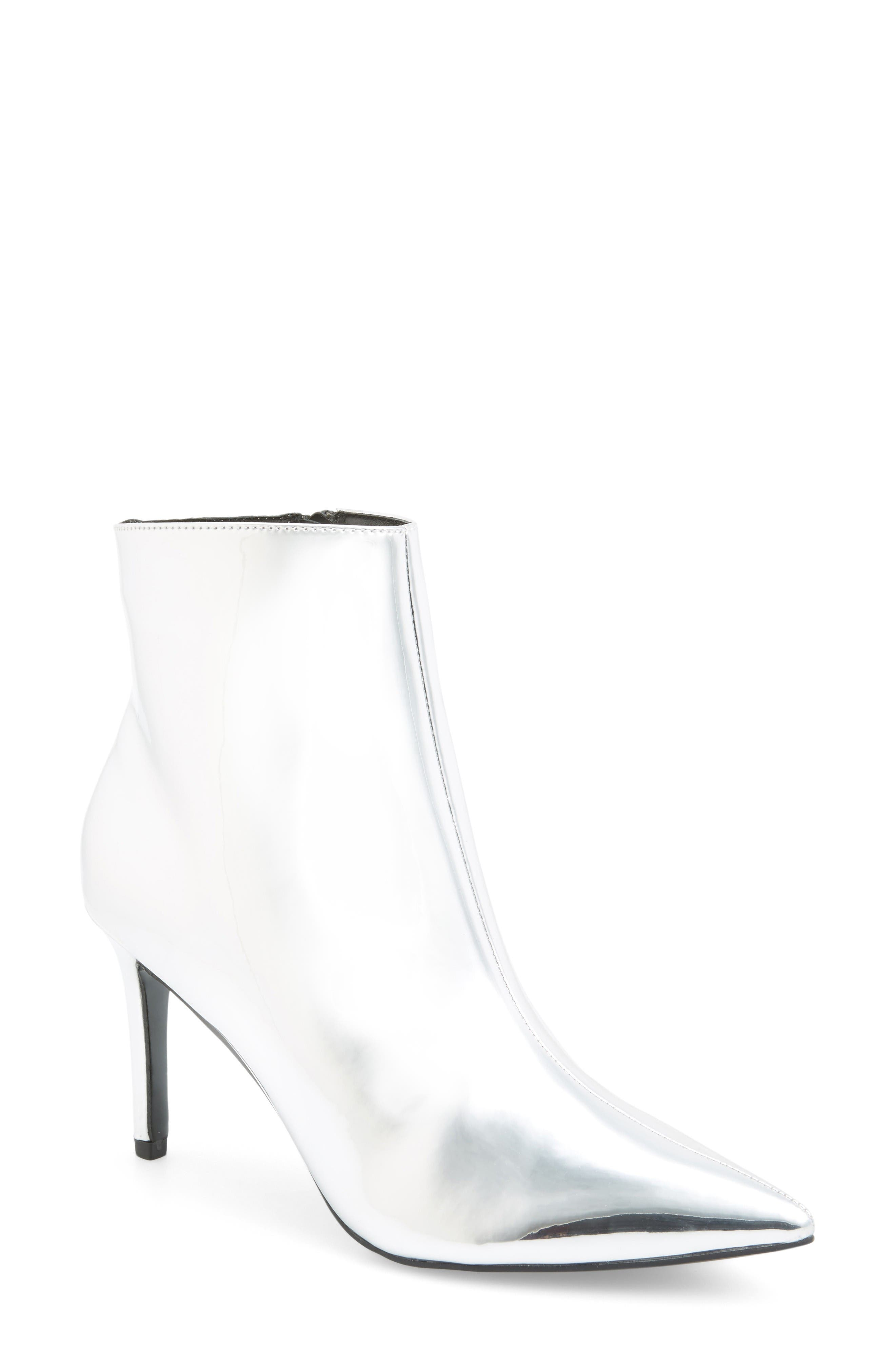 Topshop Mimosa Pointy Toe Bootie (Women)