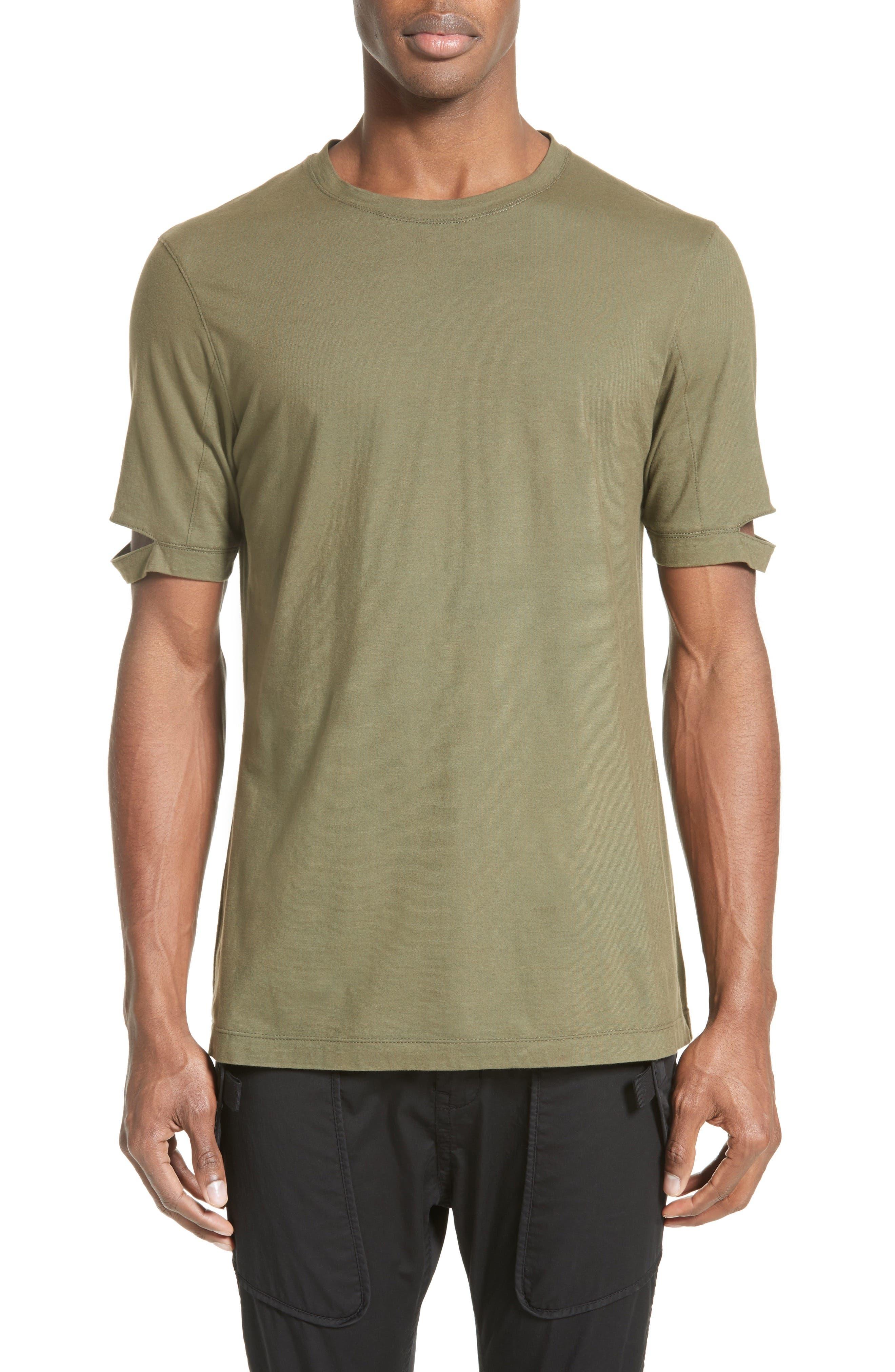Helmut Lang Sliced Sleeve T-Shirt