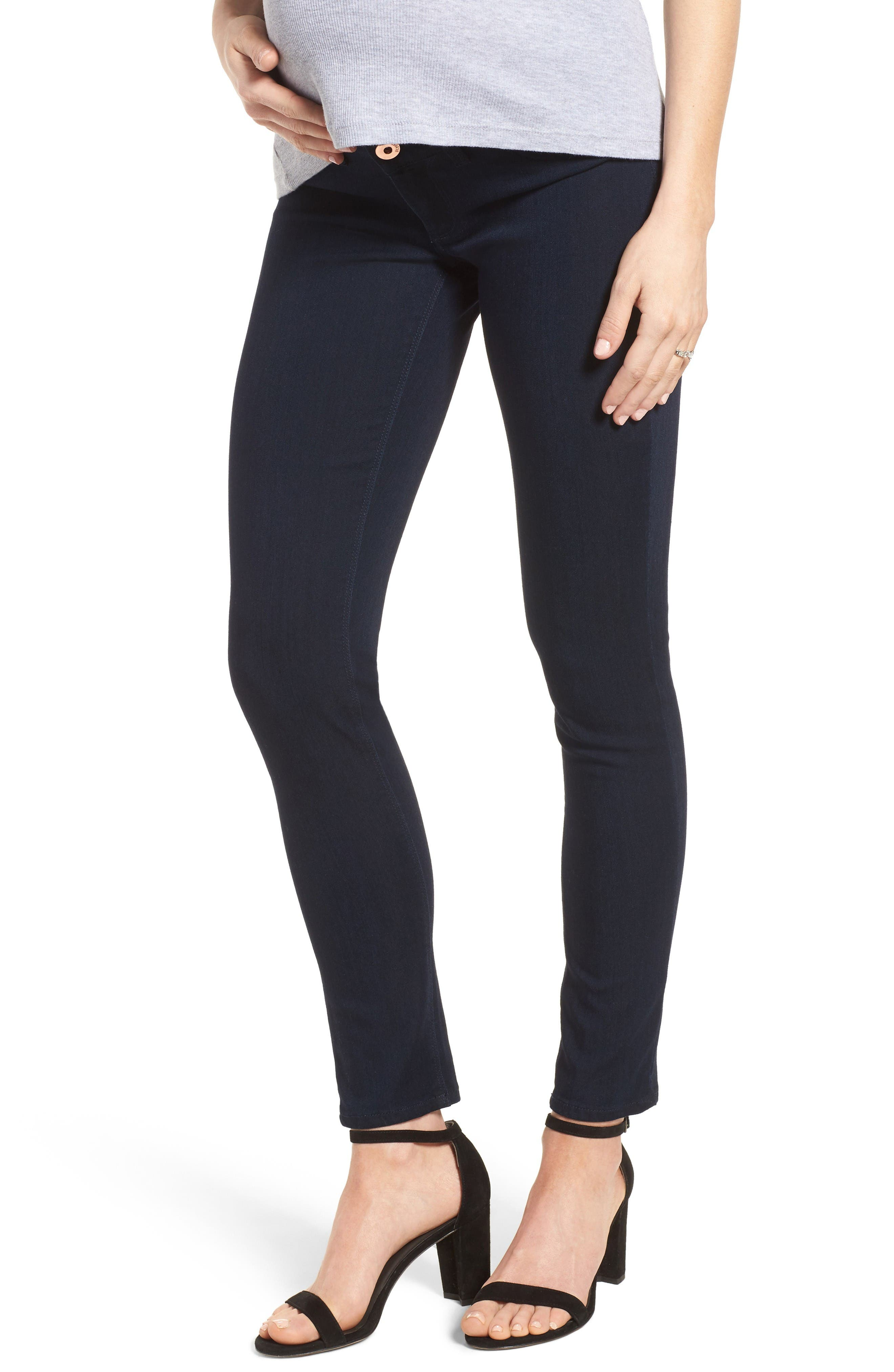 Emma Power Legging Maternity Jeans,                         Main,                         color, Flatiron