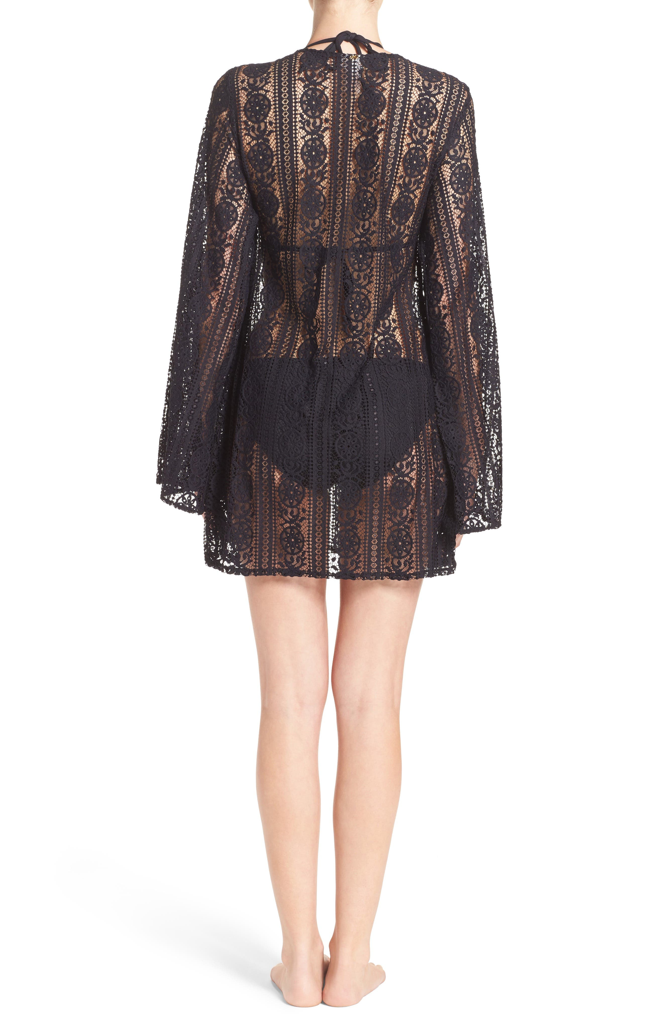 Ariana Cover-Up Tunic,                             Alternate thumbnail 2, color,                             Midnight