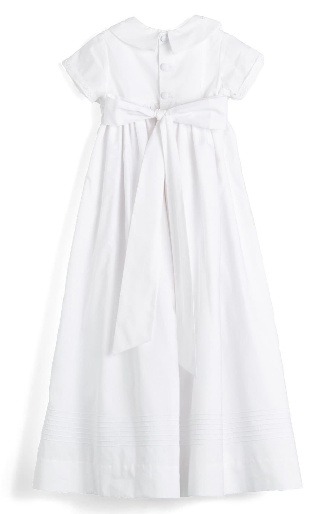 Alternate Image 2  - Isabel Garreton 'Classic' Christening Gown & Bonnet (Baby)