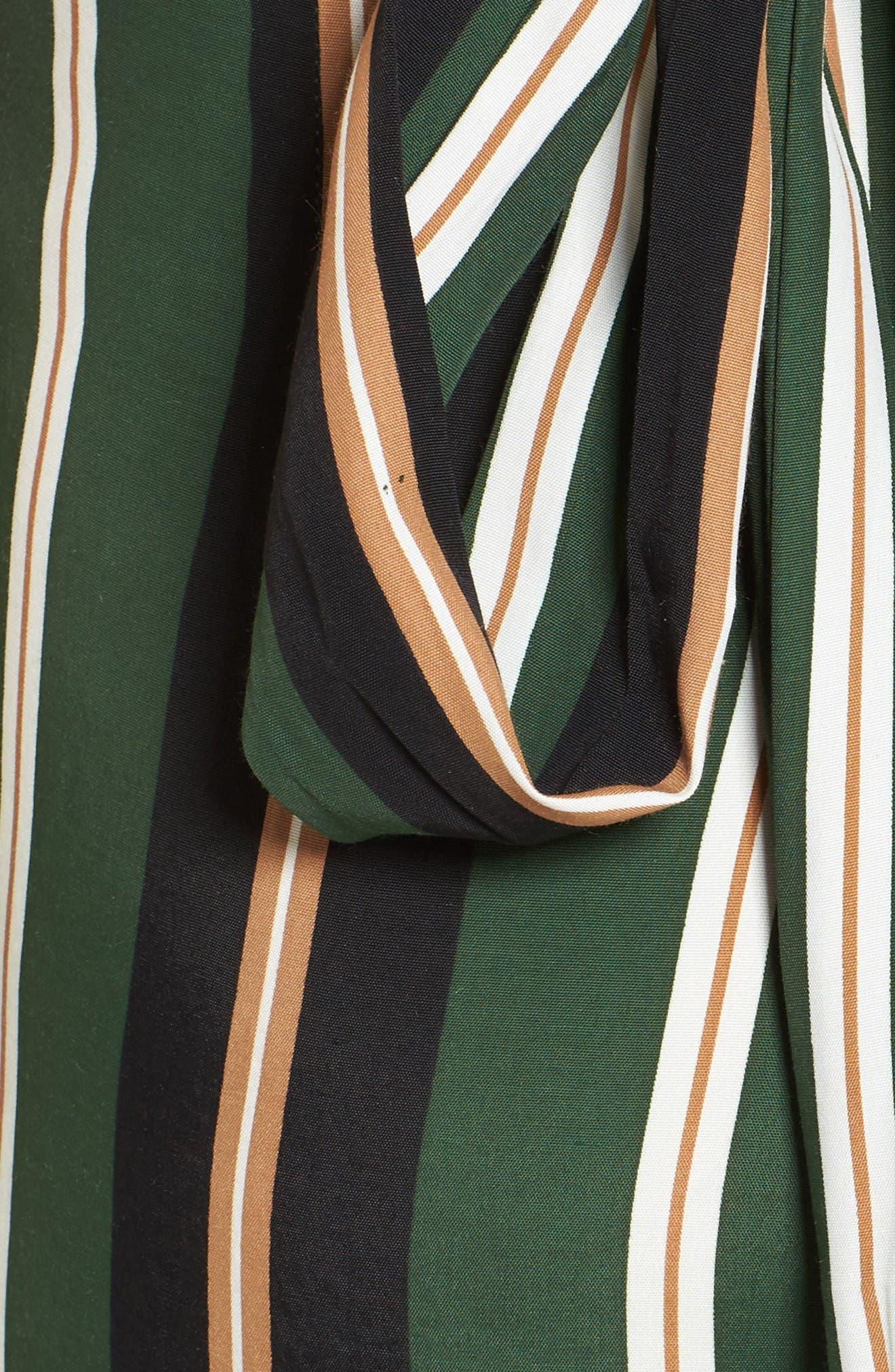 Cedric Jumpsuit,                             Alternate thumbnail 6, color,                             Firenze Stripes Green/Blk