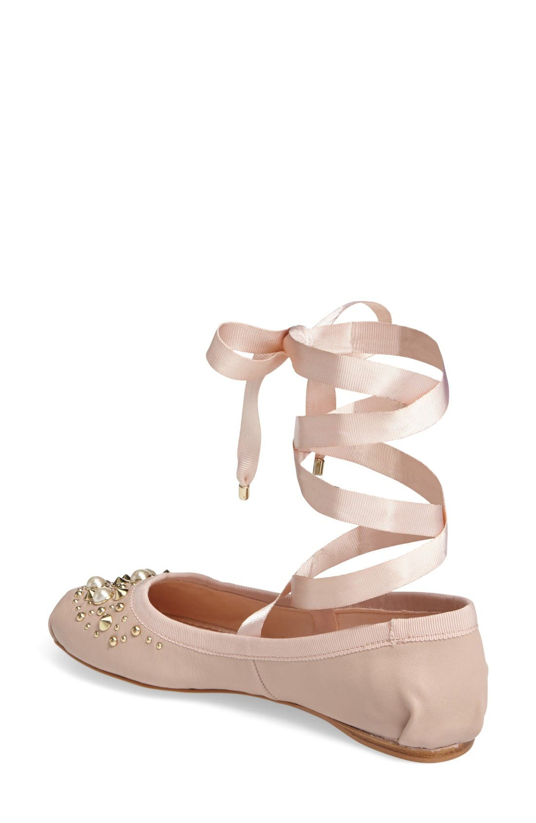 Alternate Image 2  - Topshop Kisses Ballet Flat (Women)