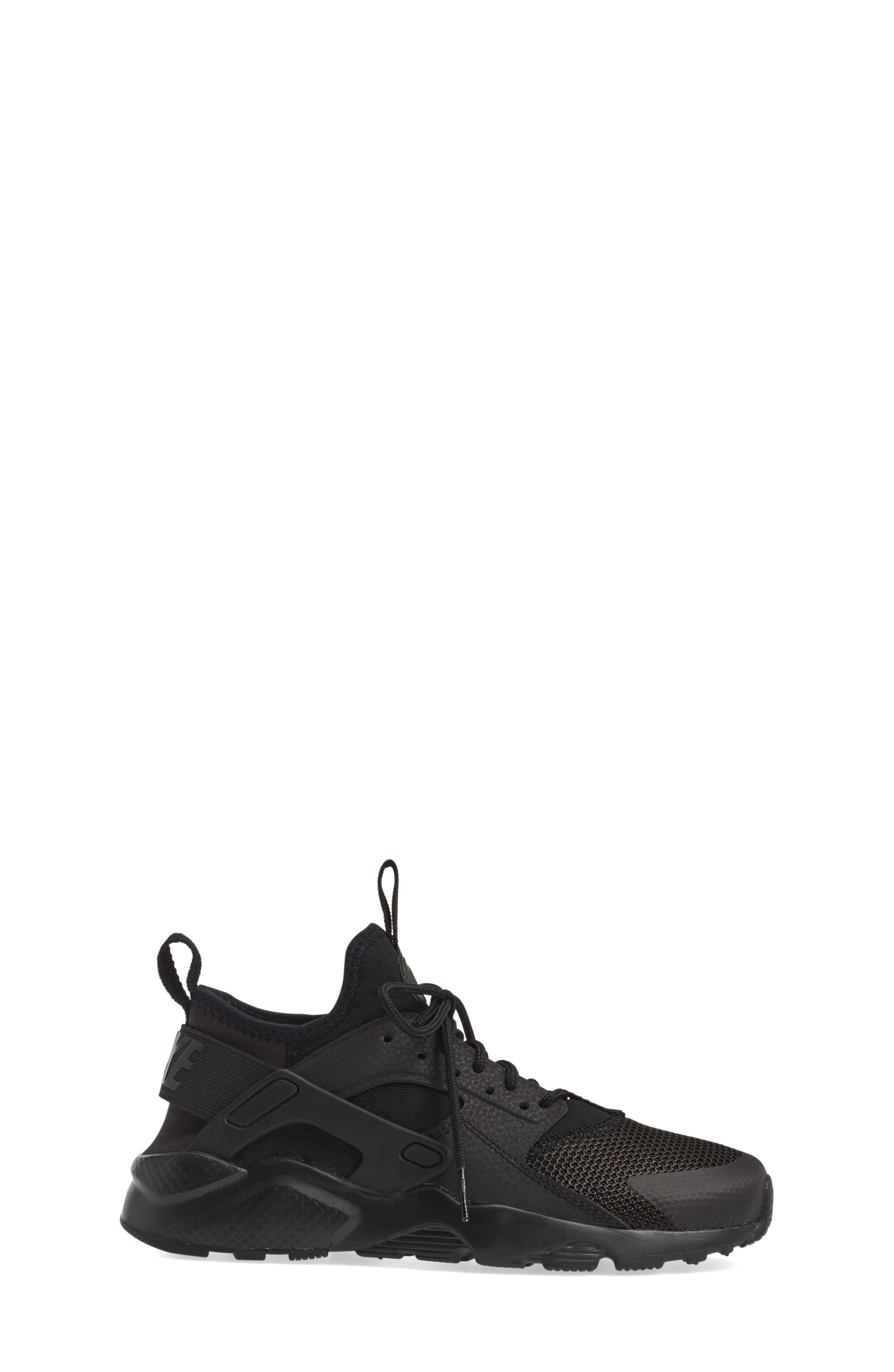 Alternate Image 3  - Nike Air Huarache Run Ultra Sneaker (Big Kid)