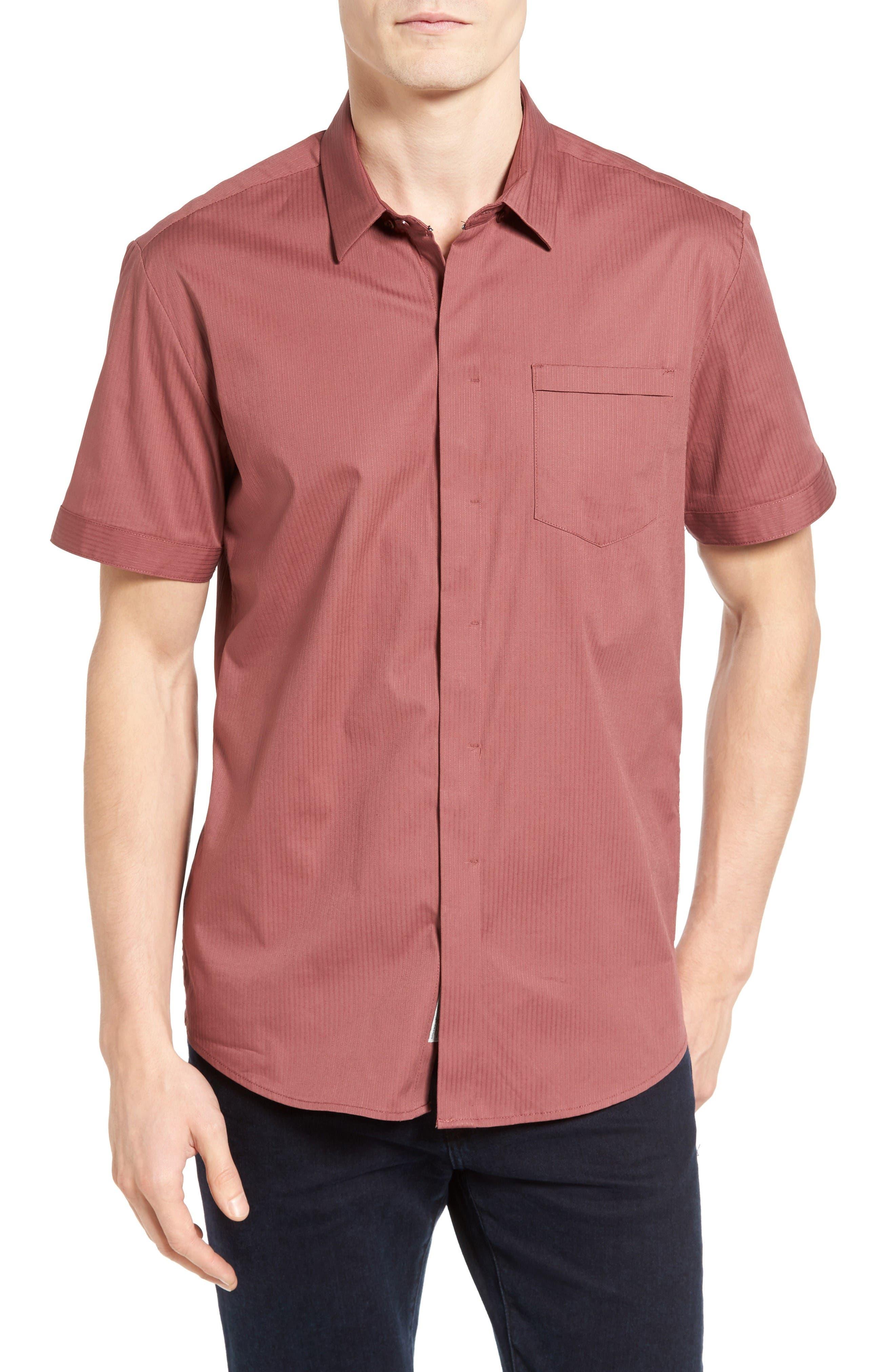 City Savior Woven Shirt,                         Main,                         color, Roan Rogue
