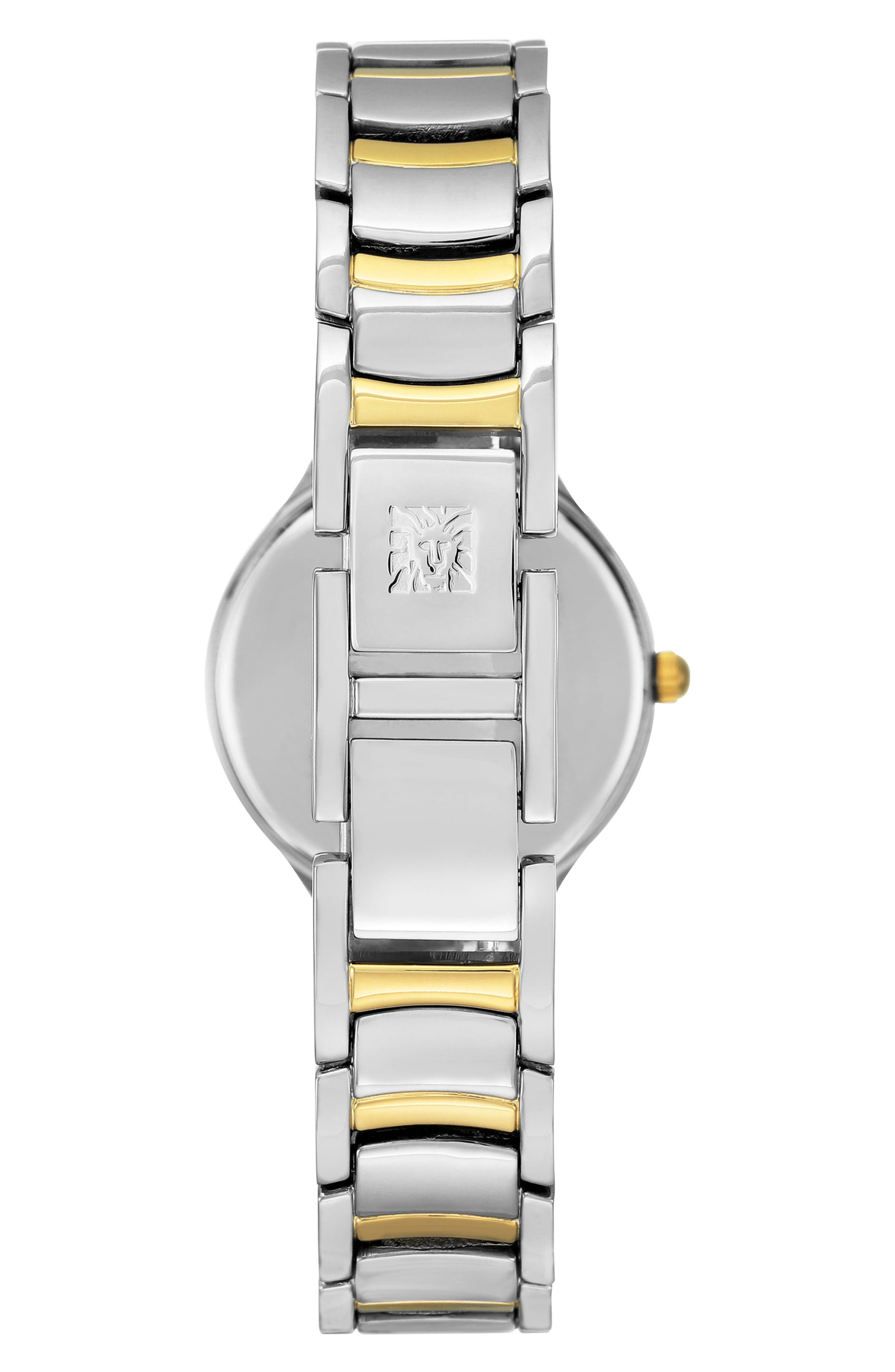 Alternate Image 2  - Anne Klein Bracelet Watch, 28mm