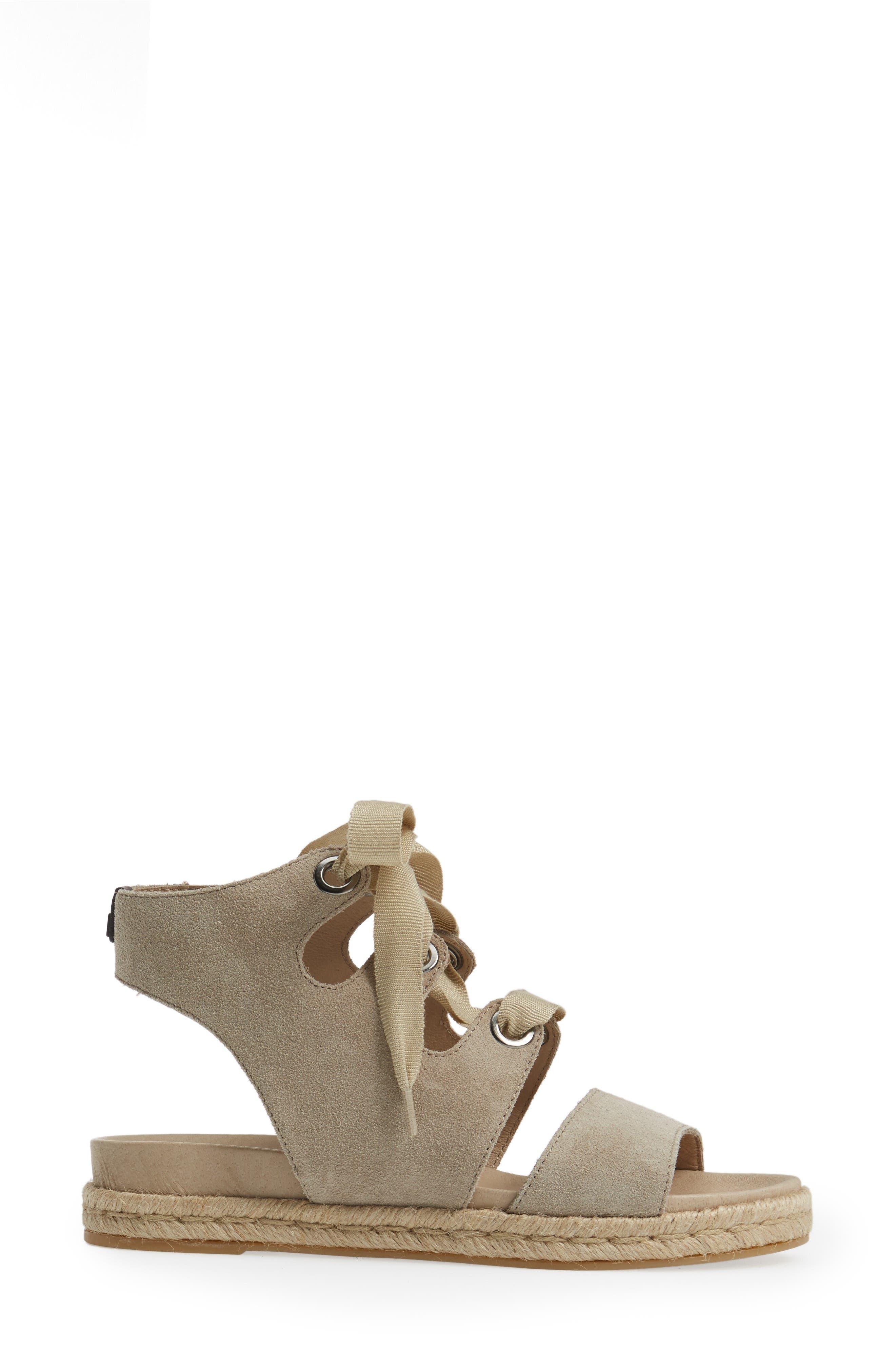 Alternate Image 3  - Rudsak Baptista Lace-Up Sandal (Women)