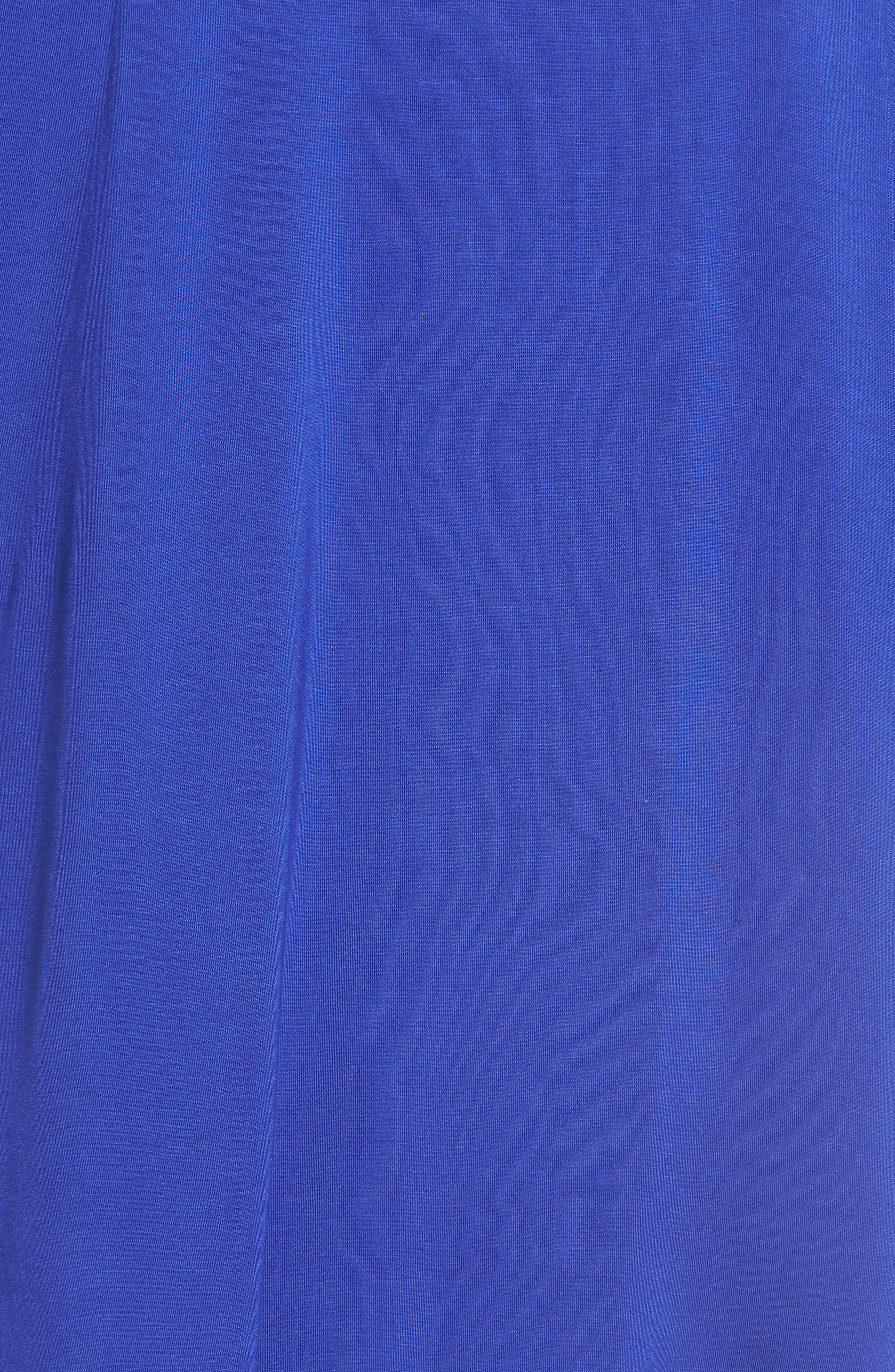 Alternate Image 5  - Bobeau Cold Shoulder High/Low Top