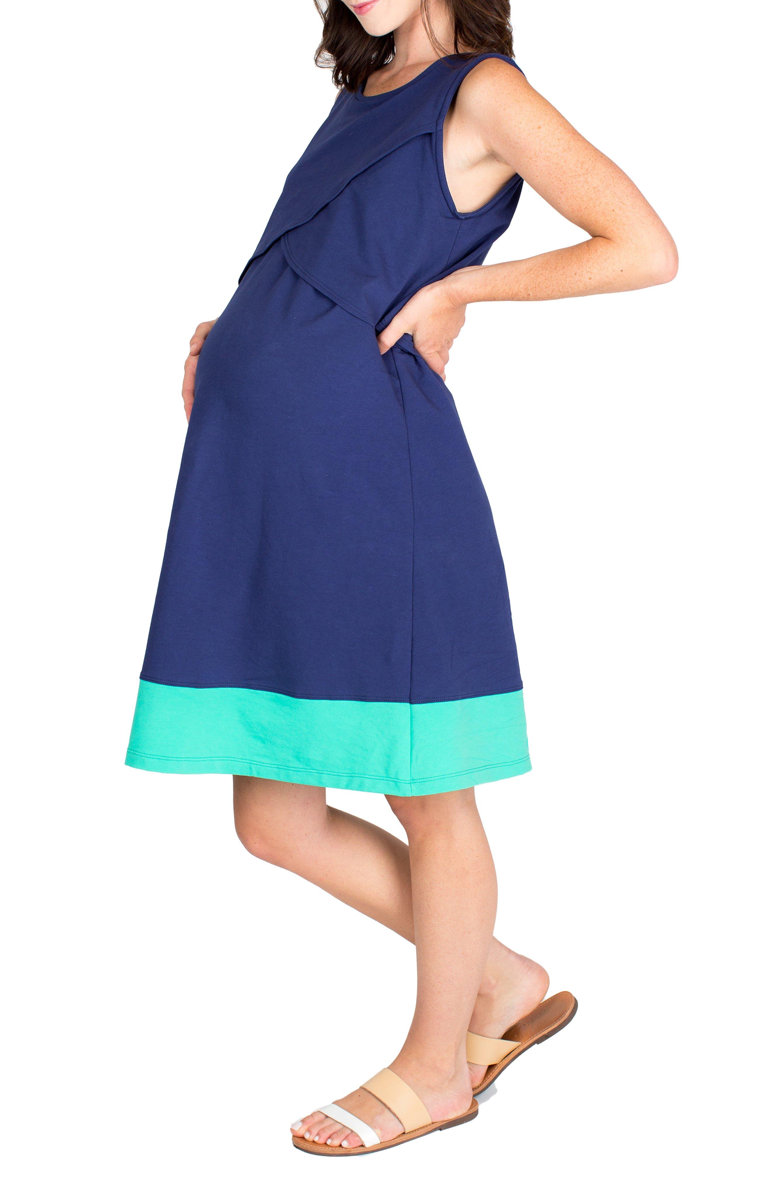 Alternate Image 3  - Nom Maternity Sophia Maternity/Nursing Dress