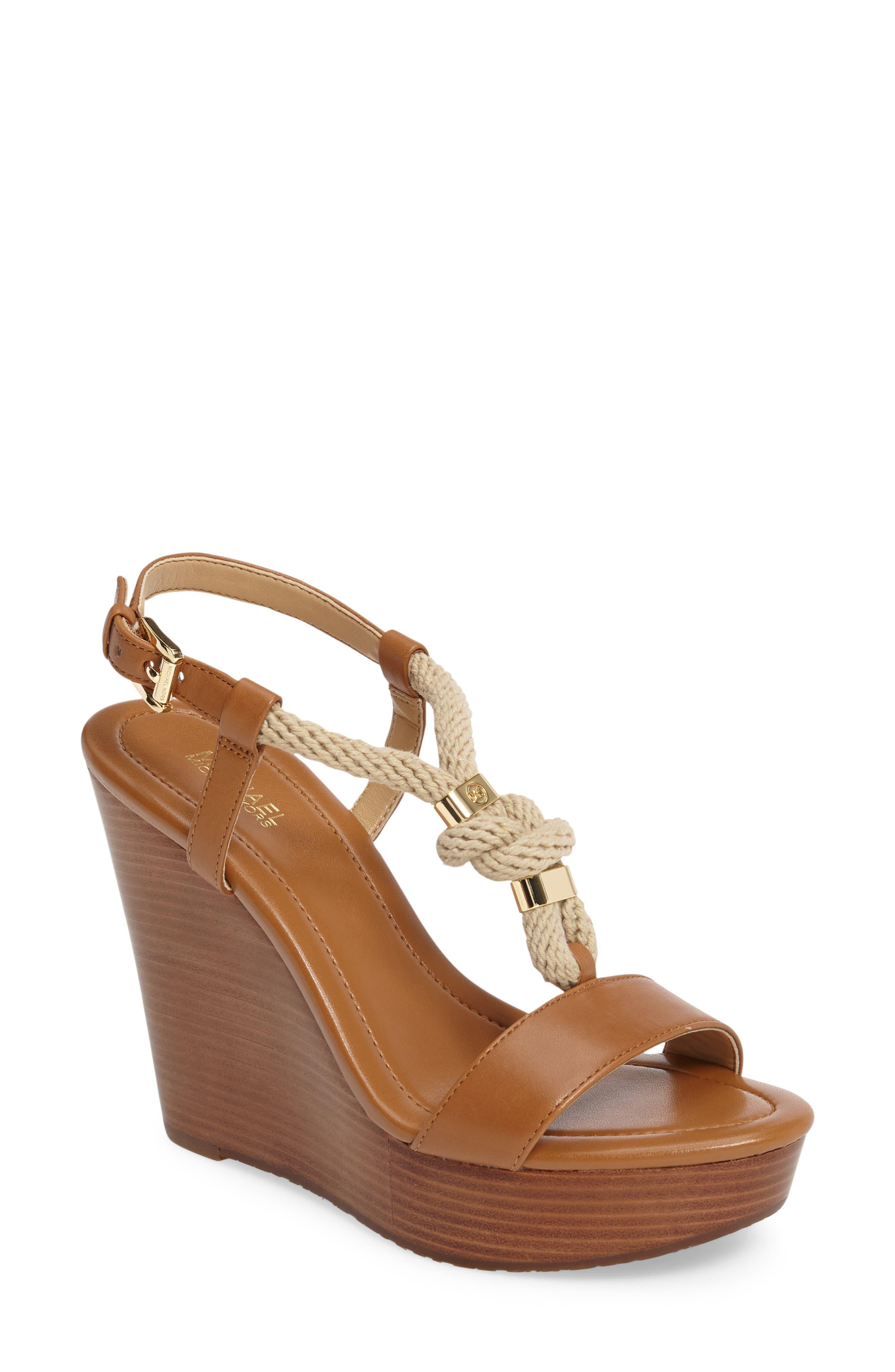 Main Image - MICHAEL Michael Kors 'Holly' Espadrille Wedge Sandal (Women)