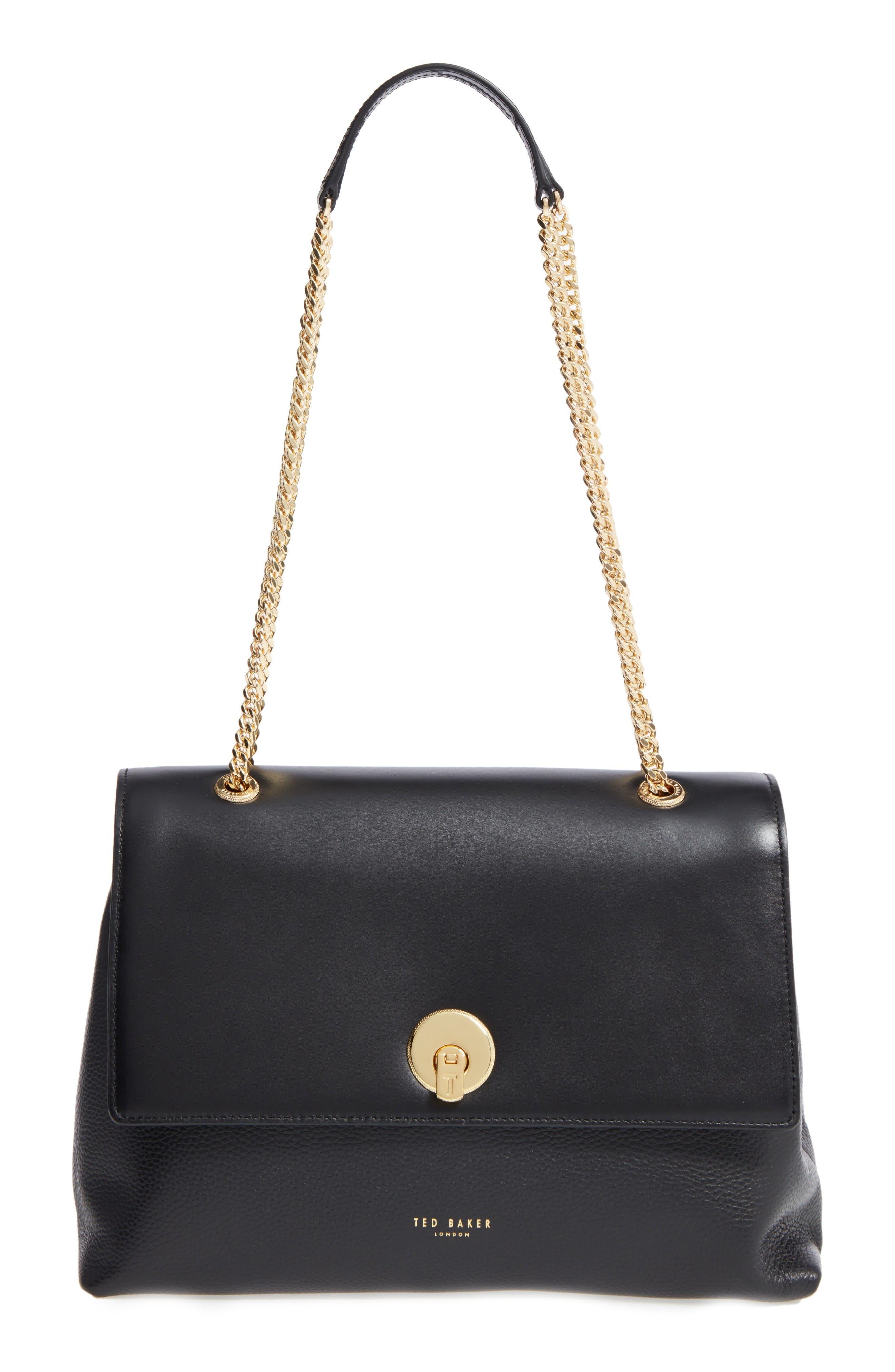 Alternate Image 1 Selected - Ted Baker London Leather Shoulder Bag