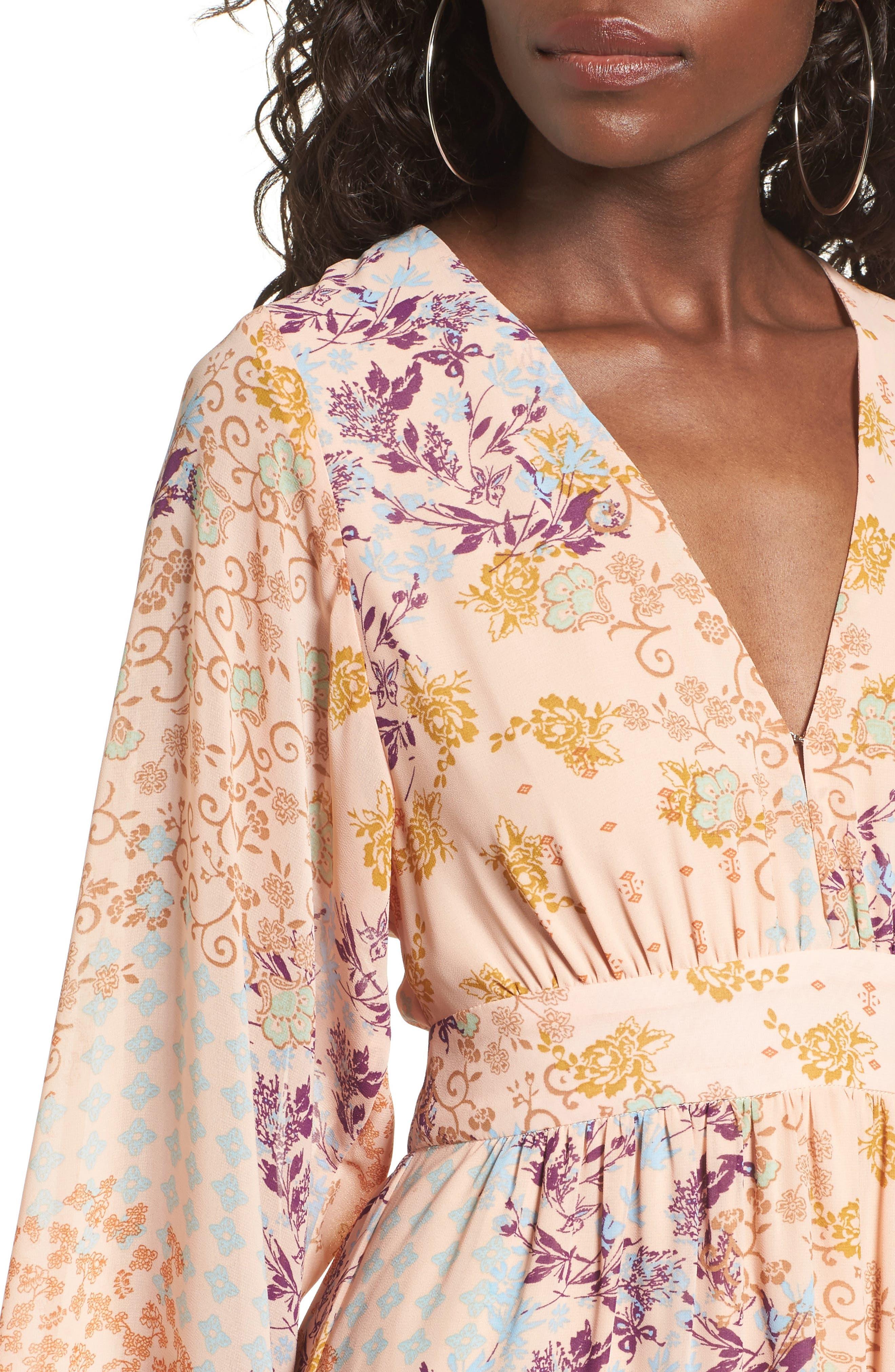 Alternate Image 4  - WAYF Viola Bell Sleeve Maxi Dress
