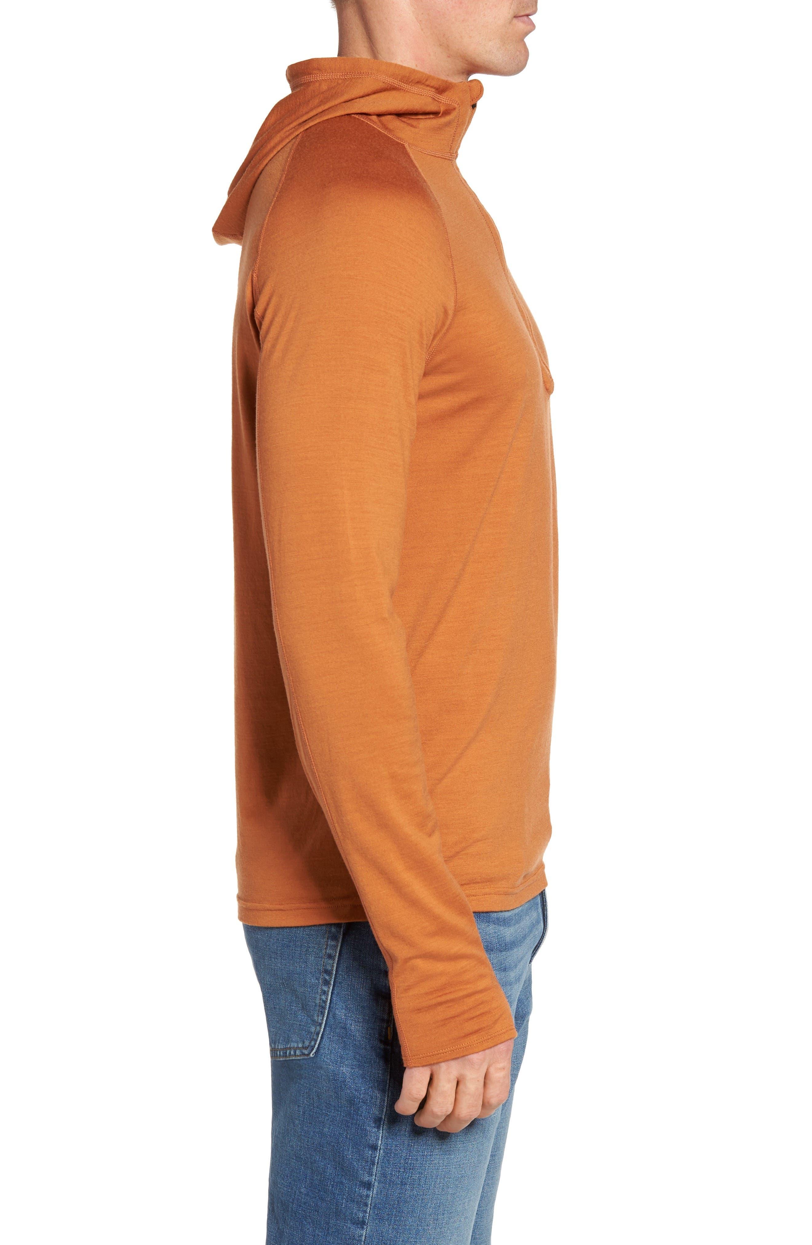Alternate Image 3  - ibex 'Indie' Merino Wool Half Zip Hoodie