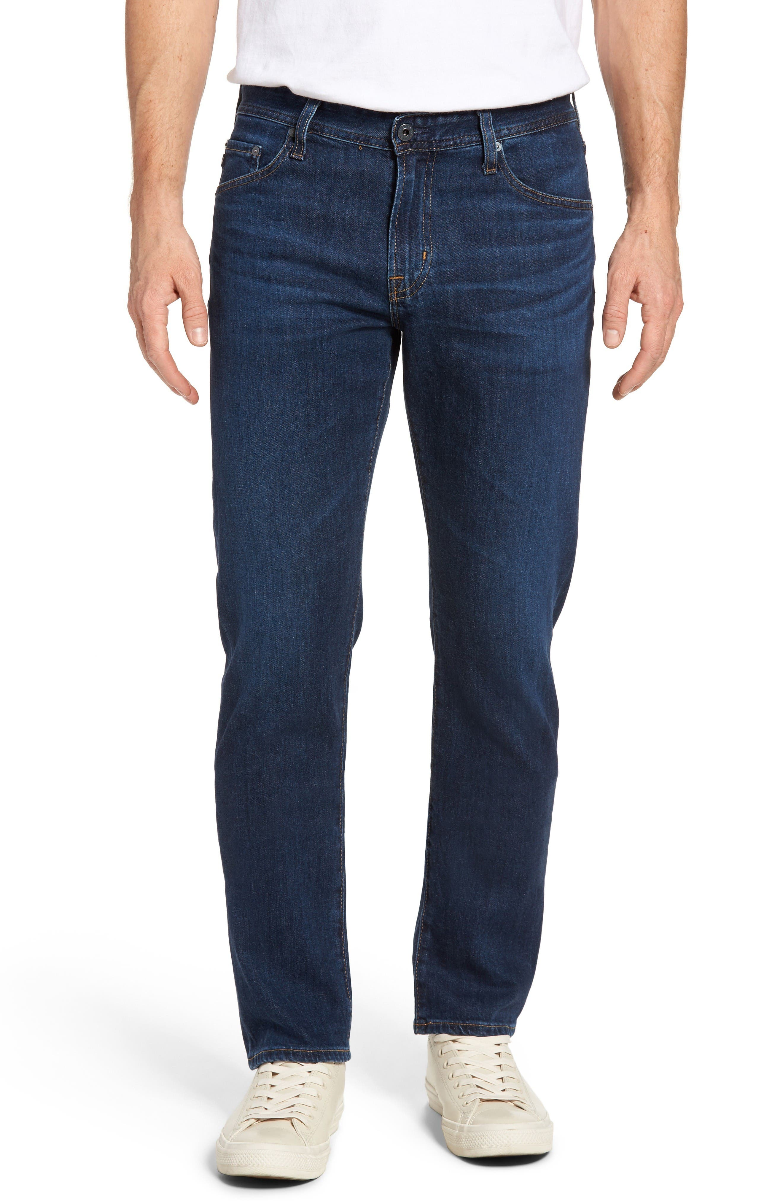 AG Graduate Slim Straight Leg Jeans (Courts)