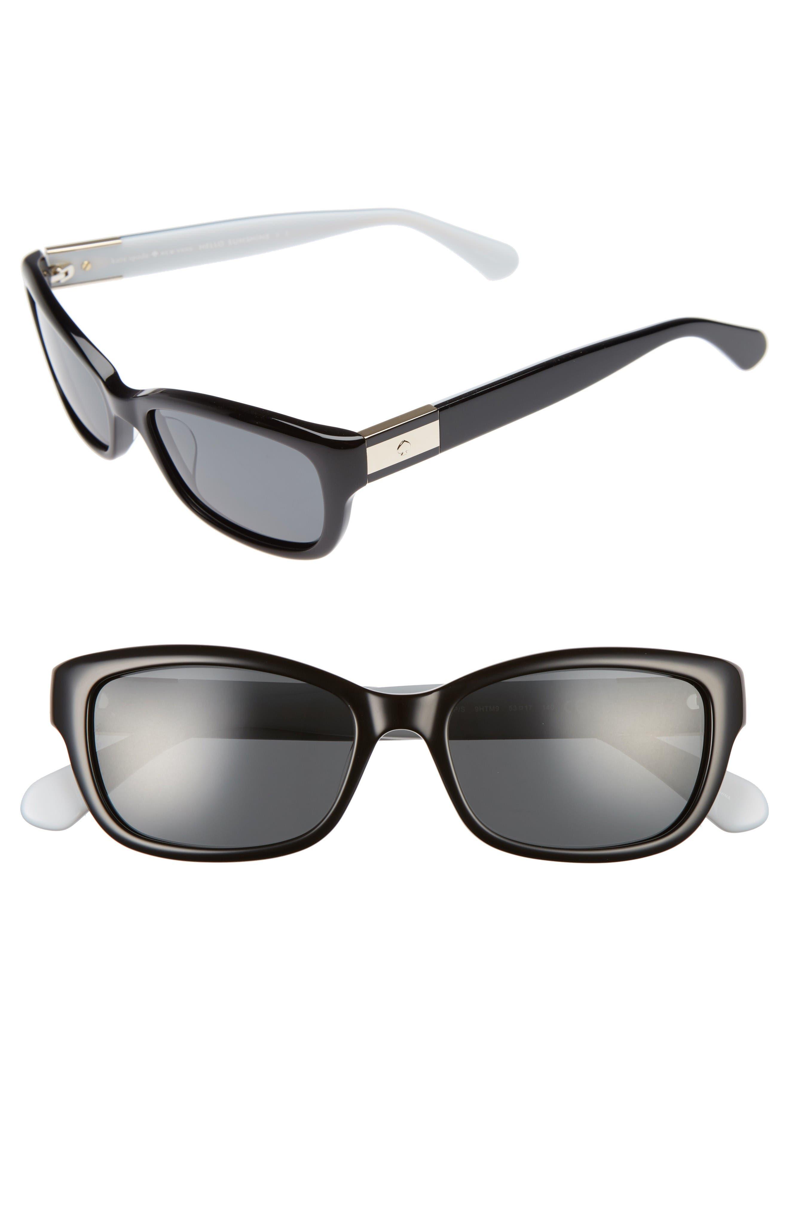 Alternate Image 1 Selected - kate spade new york marilee 53mm Polarized Sunglasses
