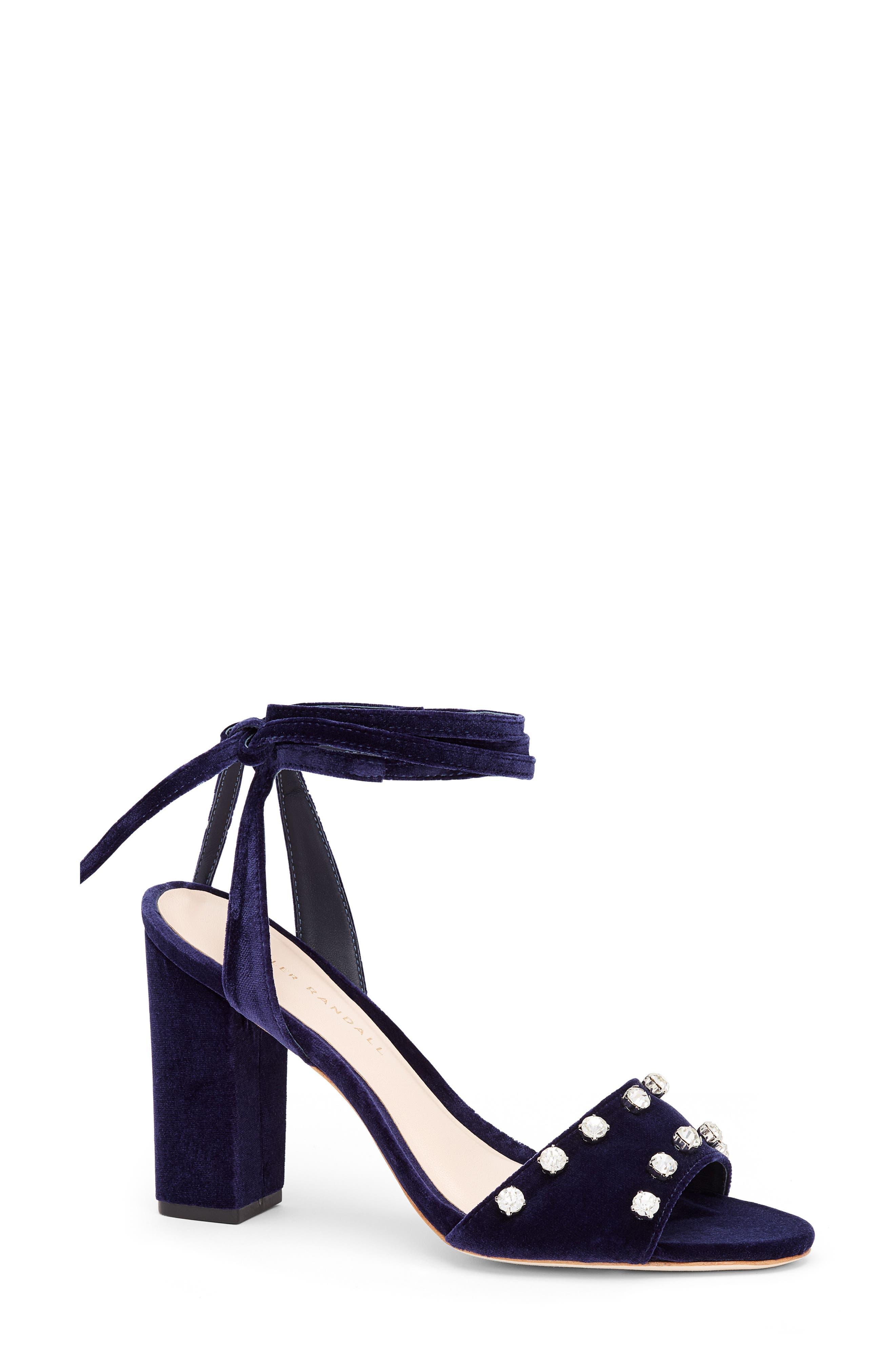 Alternate Image 1 Selected - Loeffler Randall Elayna Ankle Wrap Sandal (Women)