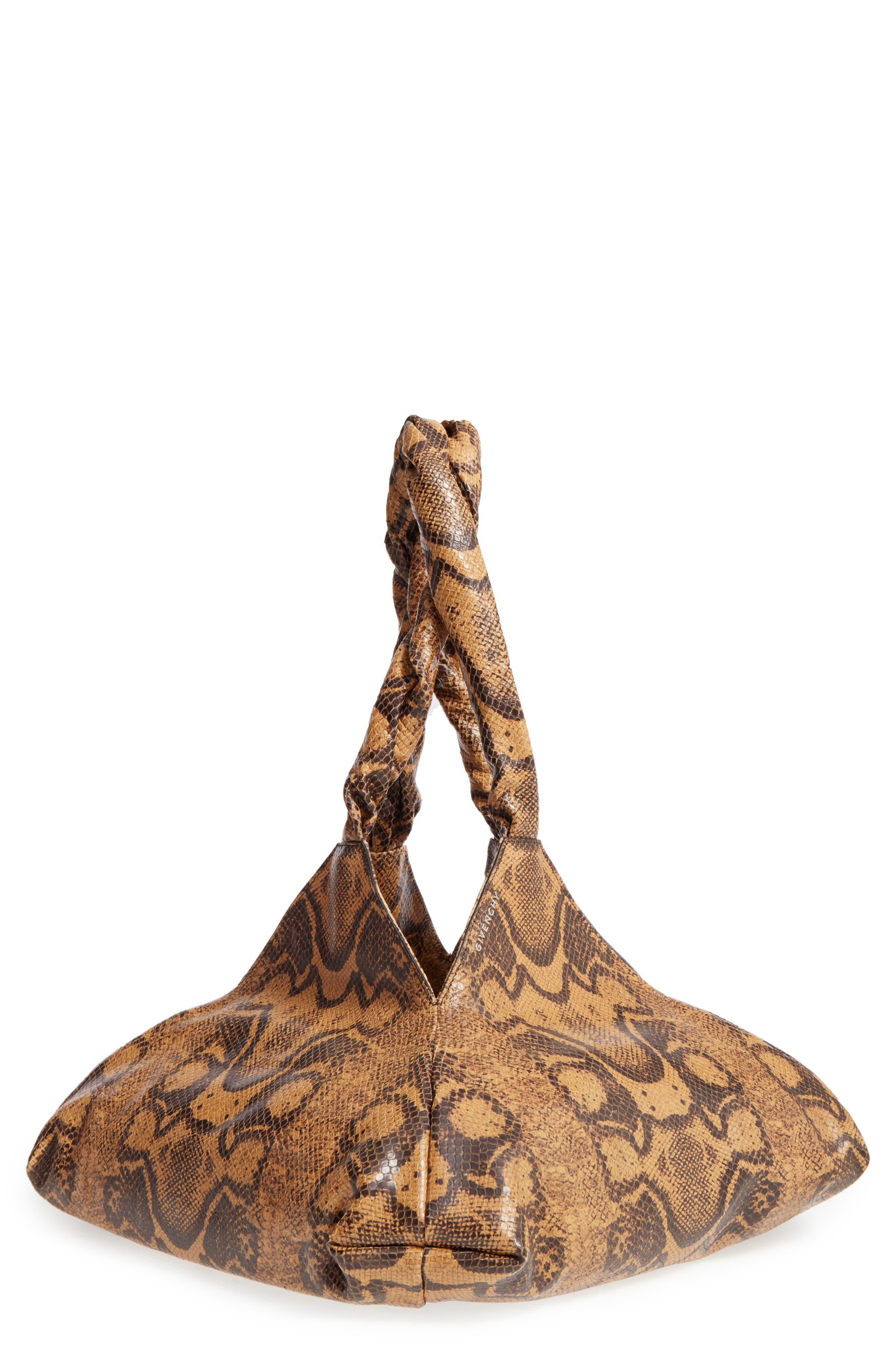 Givenchy Pyramid Leather Shoulder Bag