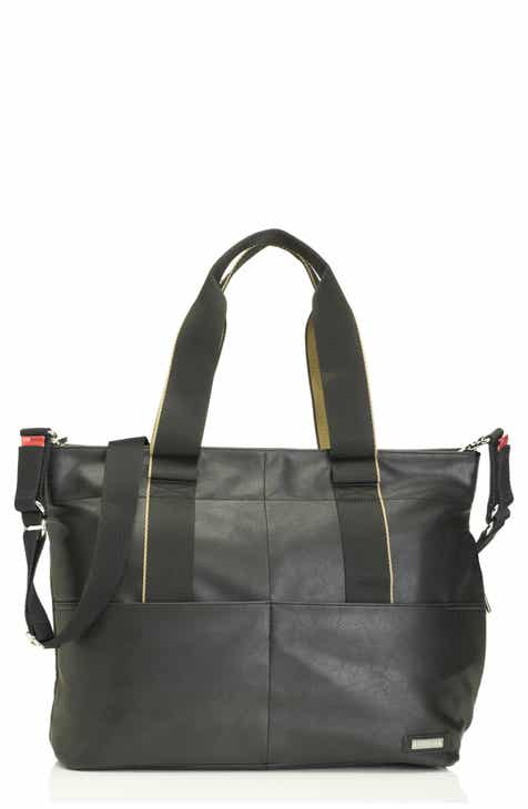 Storksak Eden Faux Leather Diaper Bag