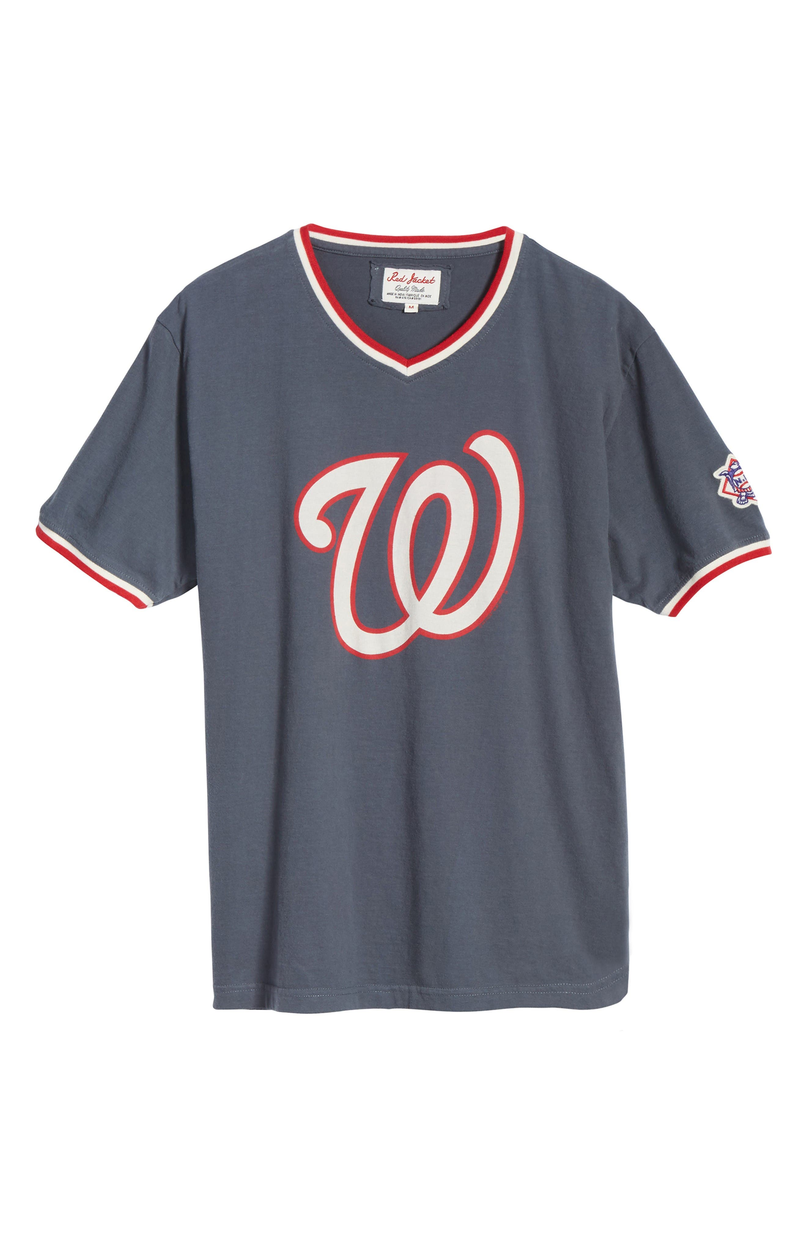 Eastwood Washington Nationals T-Shirt,                             Alternate thumbnail 6, color,                             Navy