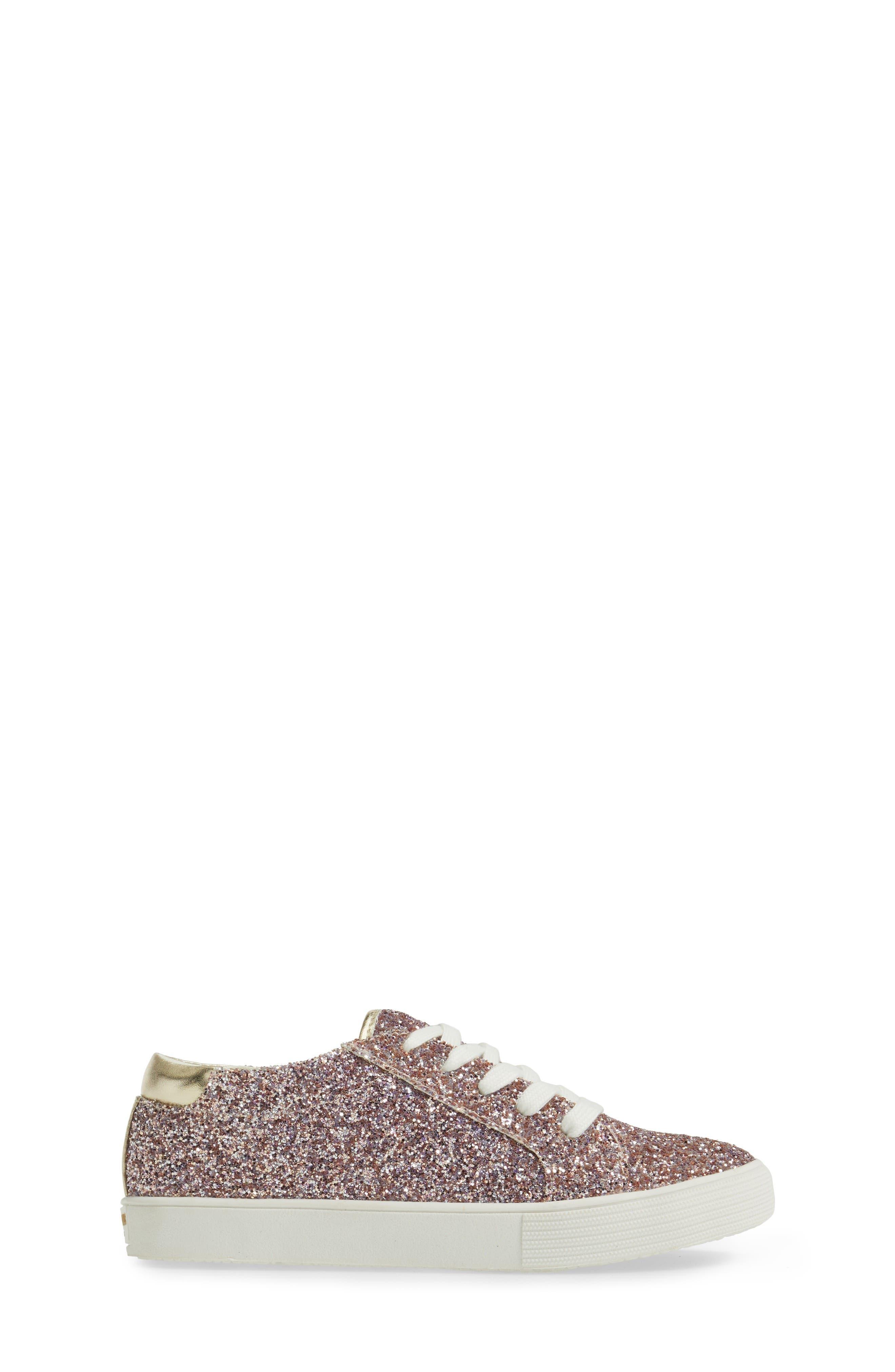 Kam Sneaker,                             Alternate thumbnail 3, color,                             Champagne