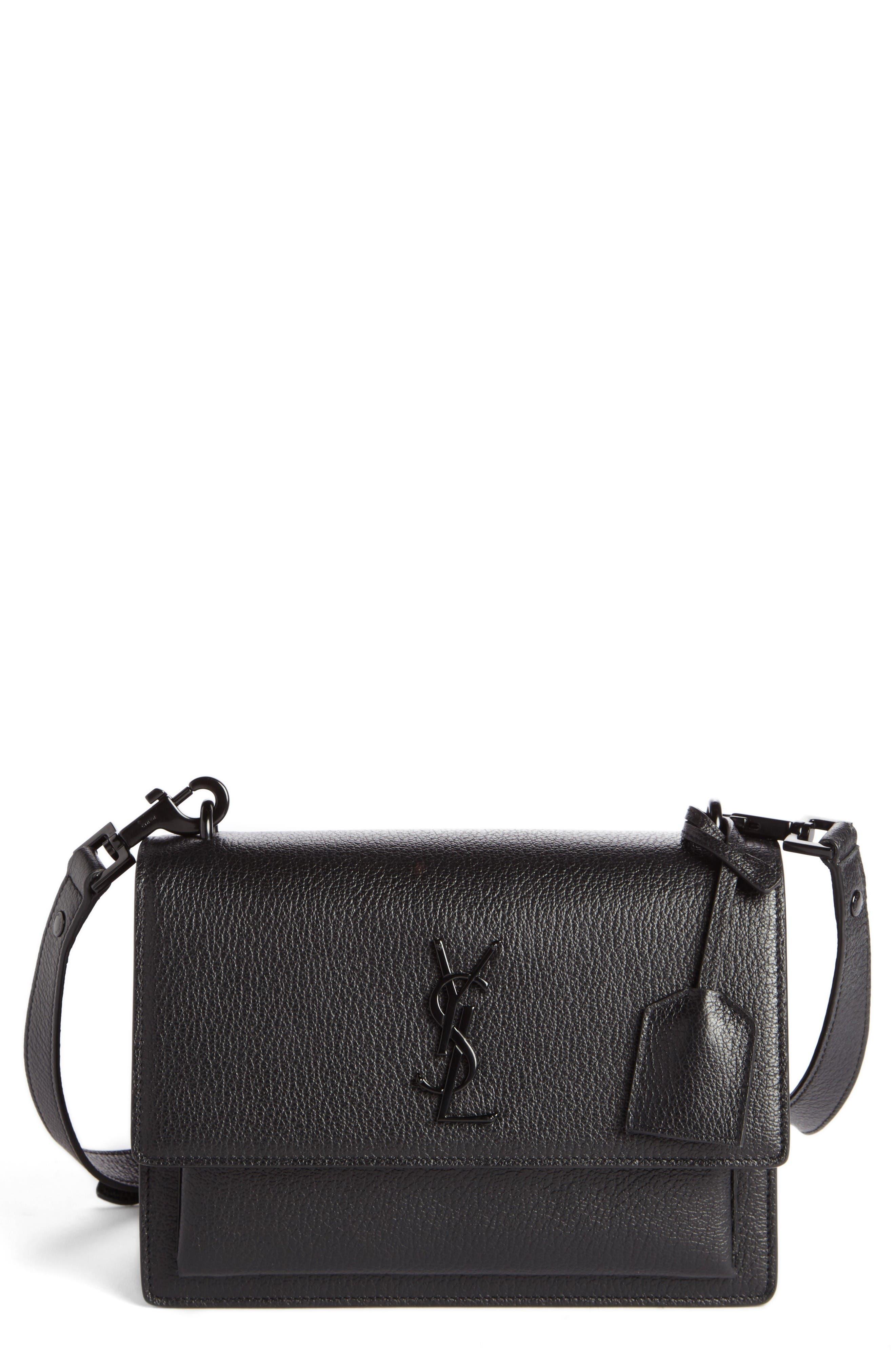 Alternate Image 1 Selected - Saint Laurent Medium Sunset Leather Shoulder Bag
