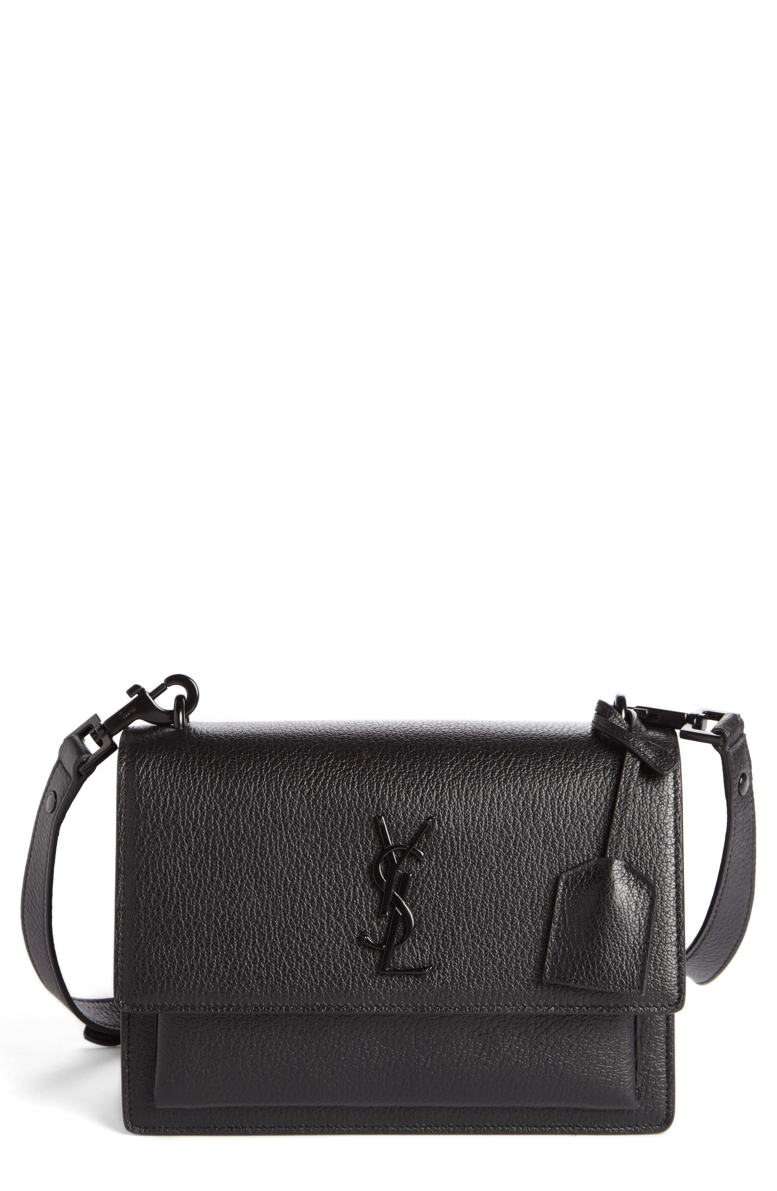 Main Image - Saint Laurent Medium Sunset Leather Shoulder Bag