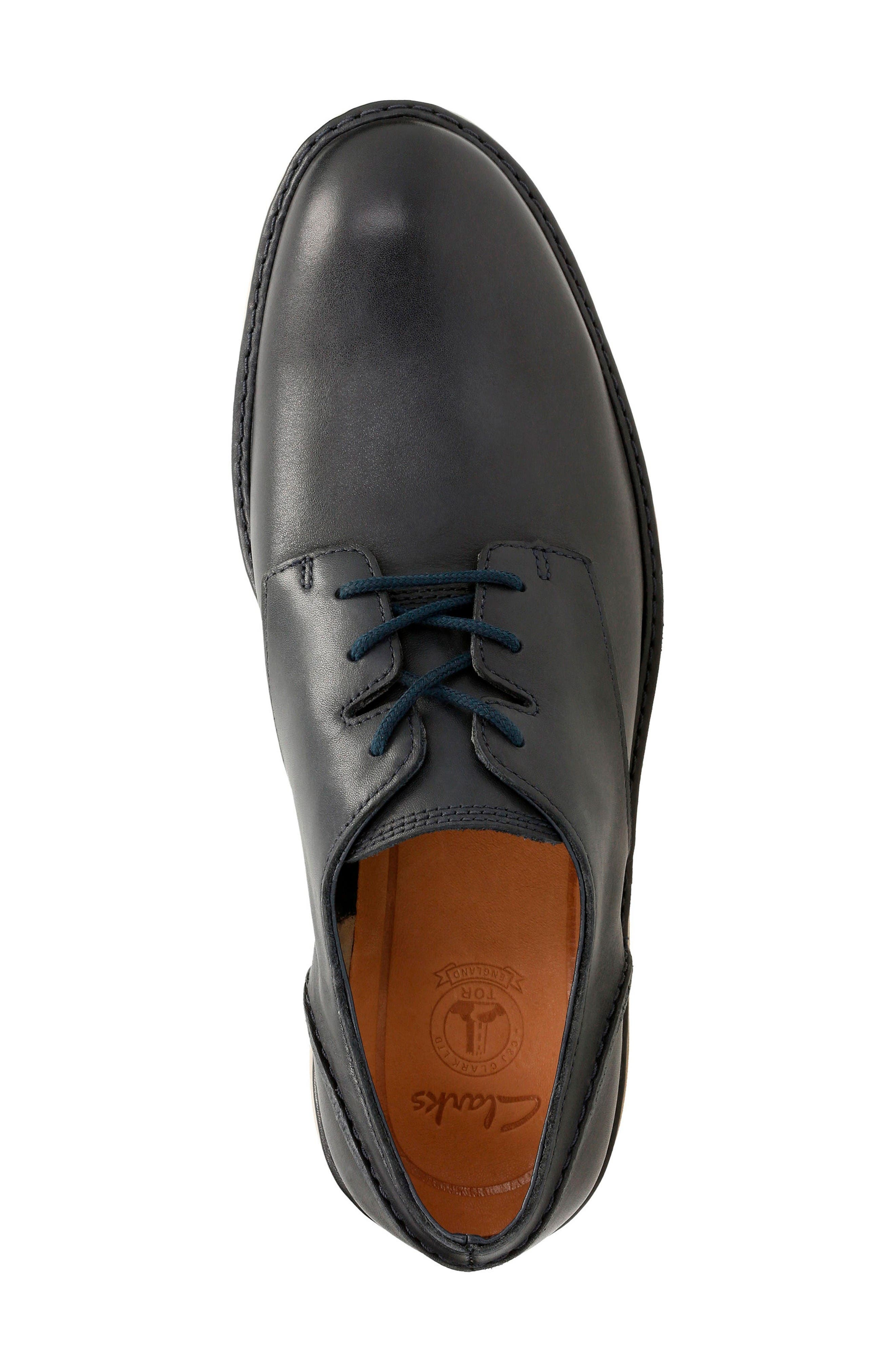 Alternate Image 4  - Clarks® Fayeman Plain Toe Derby (Men)