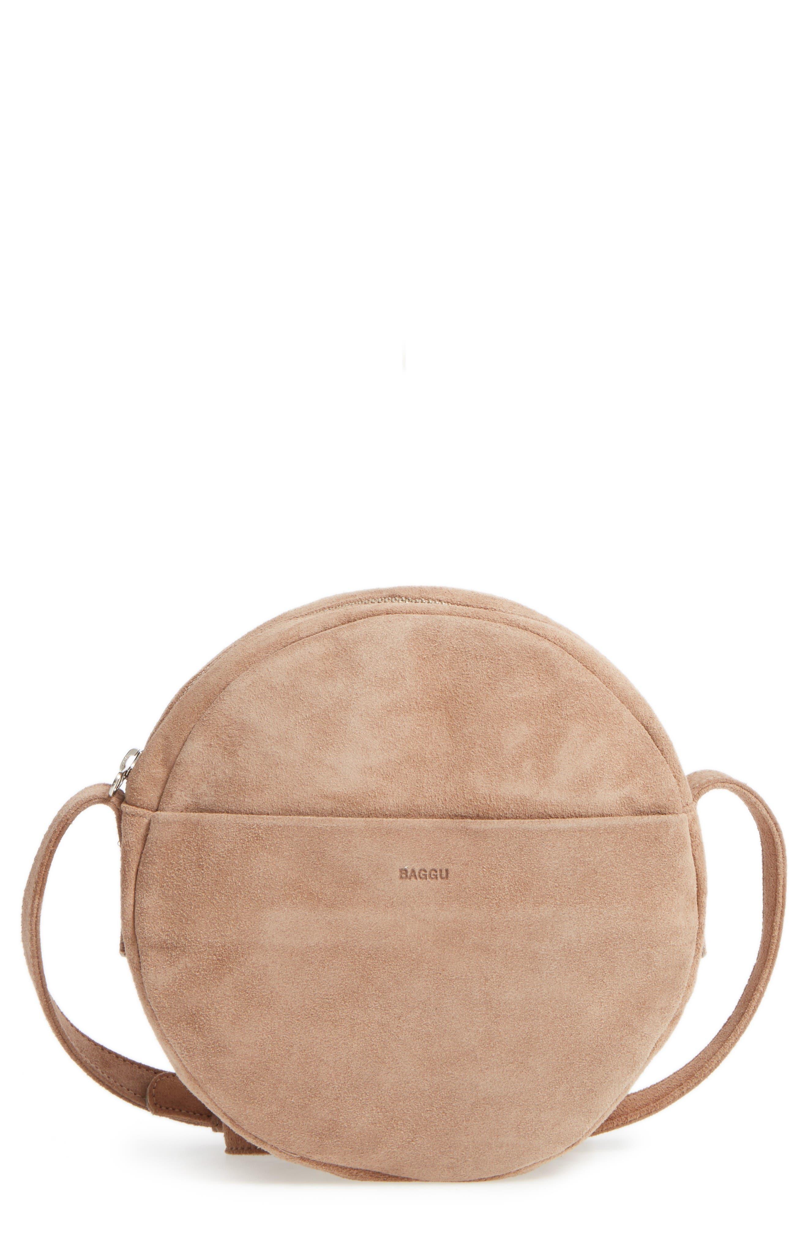 Baggu Pebbled Leather Crossbody Bag