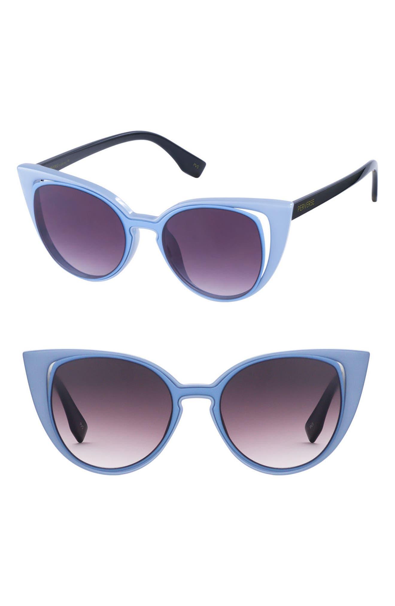 Alternate Image 1 Selected - PERVERSE Saga 55mm Cat Eye Sunglasses