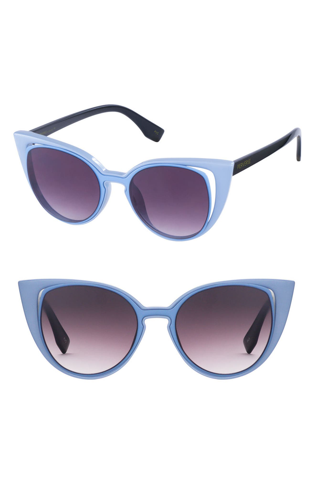 Main Image - PERVERSE Saga 55mm Cat Eye Sunglasses